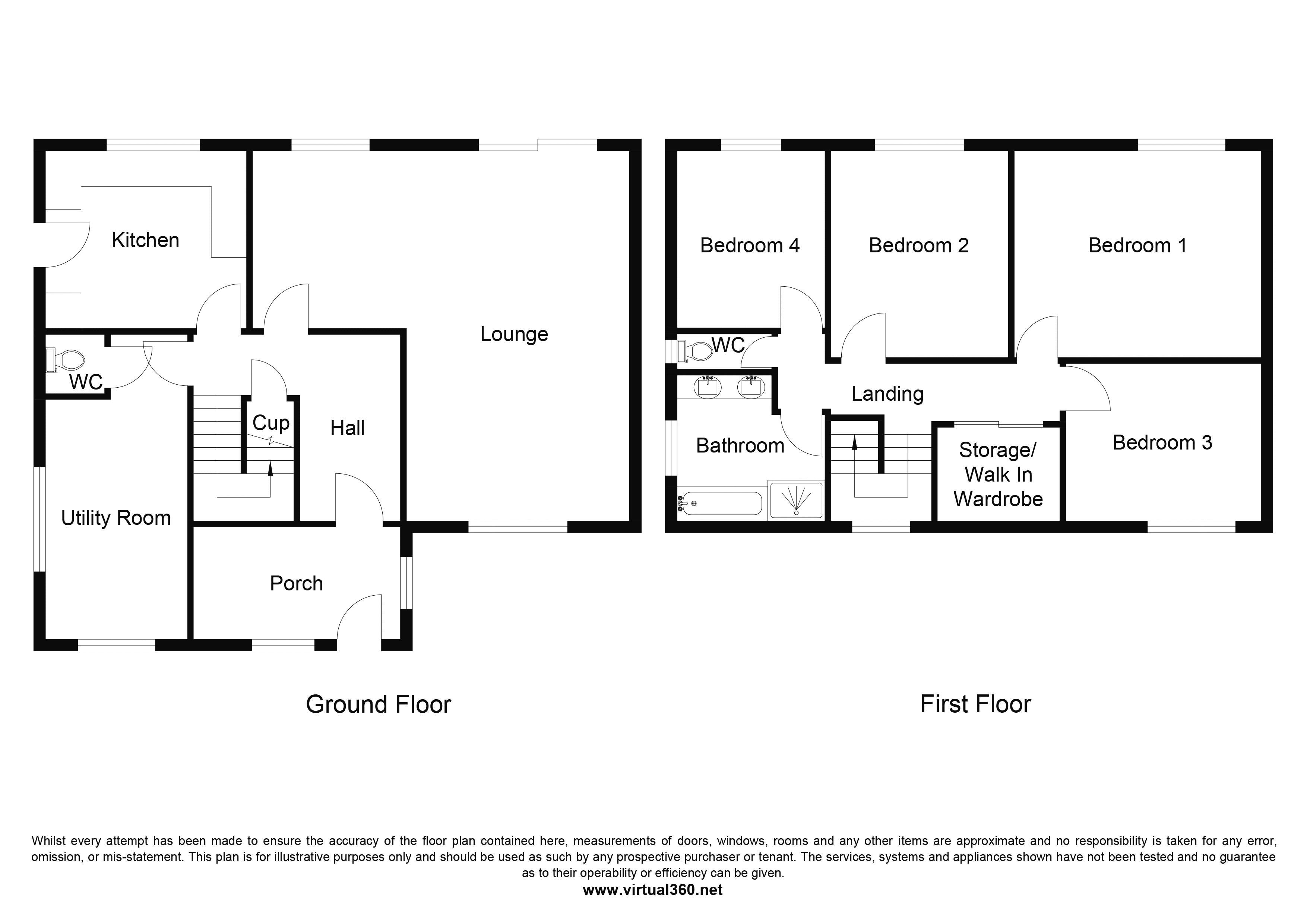 Collinbrook Avenue, Crewe floor plan