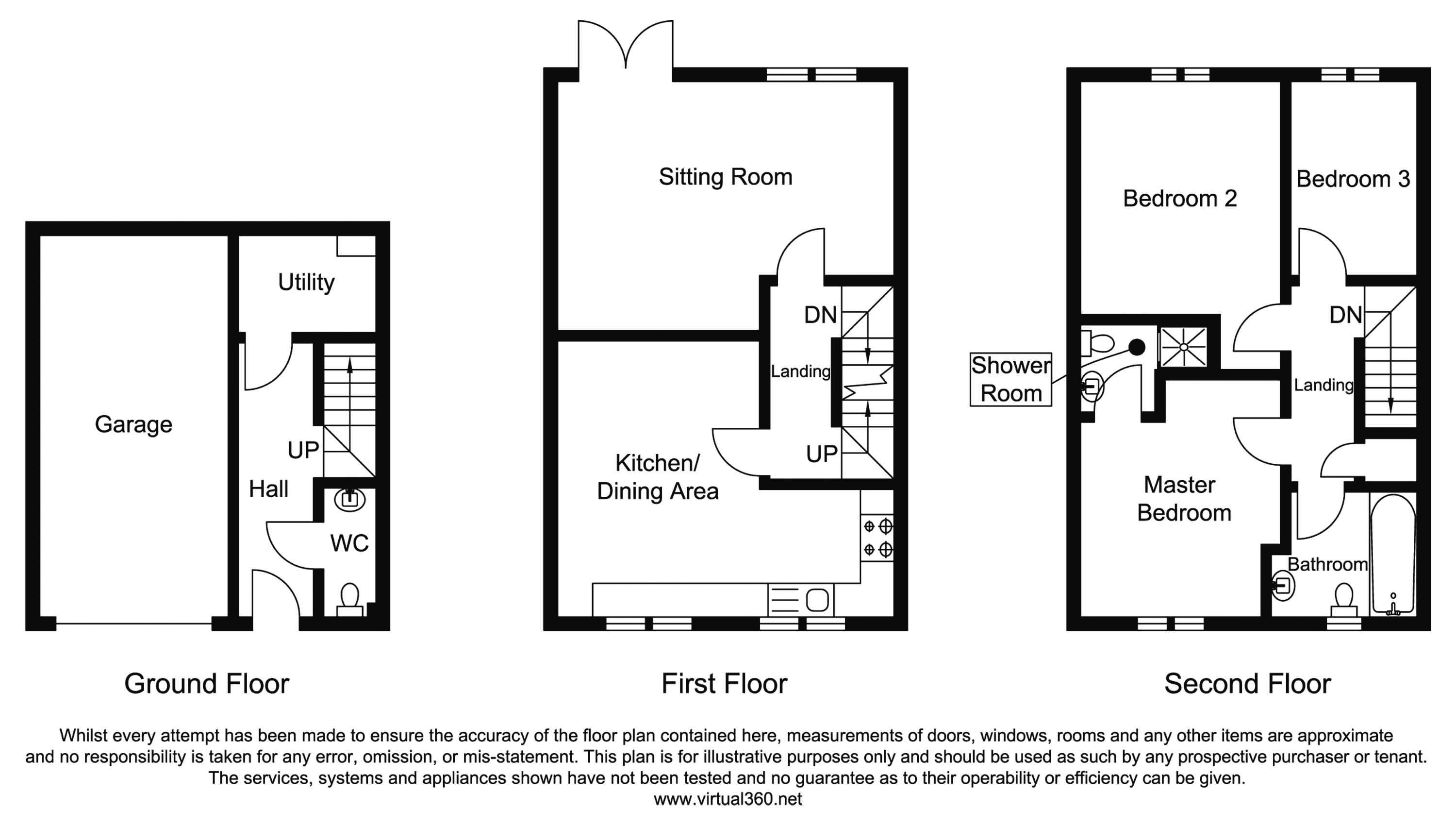 Holly Crescent, Durham floor plan