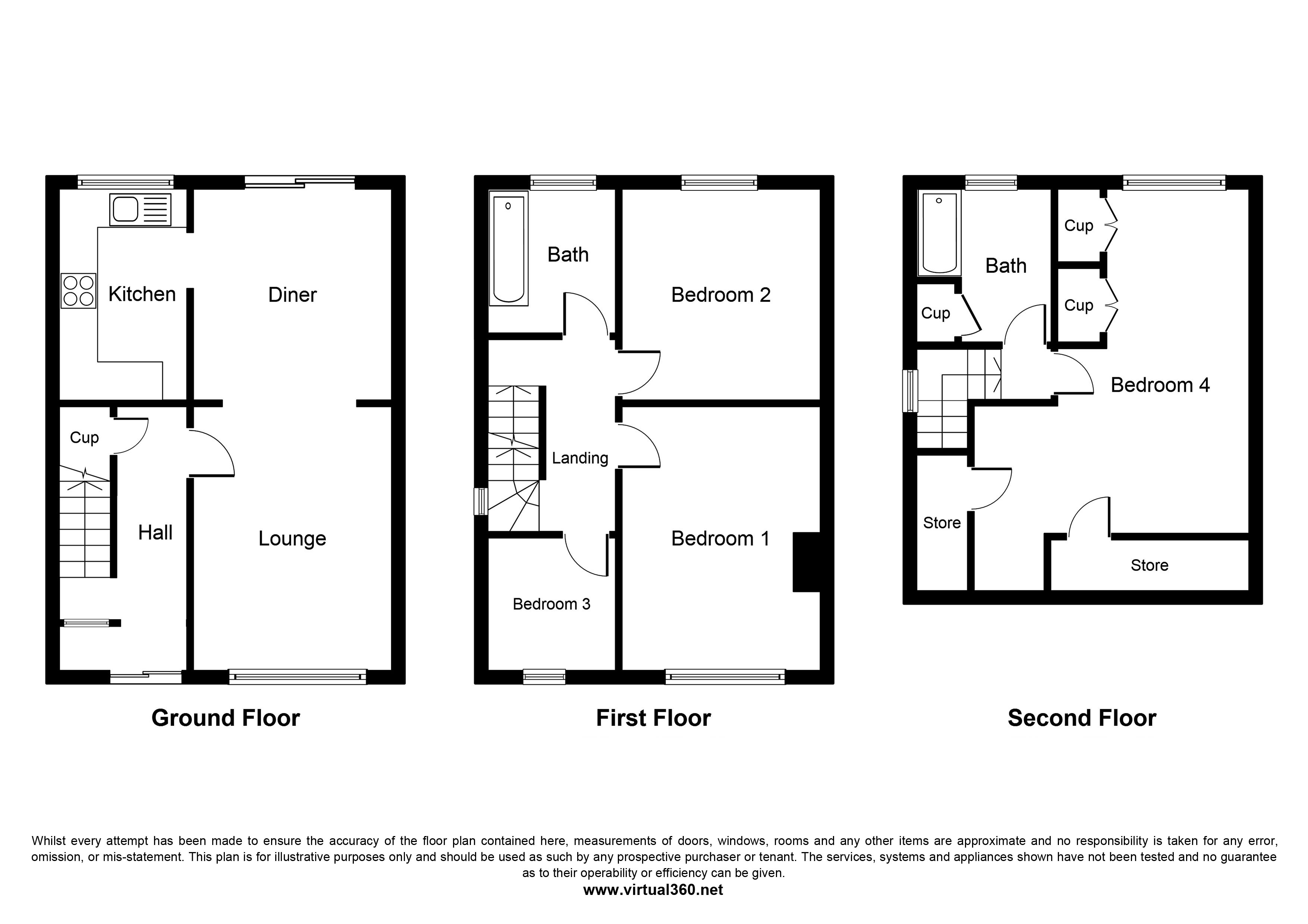 Bryant Road, NORTHOLT floor plan