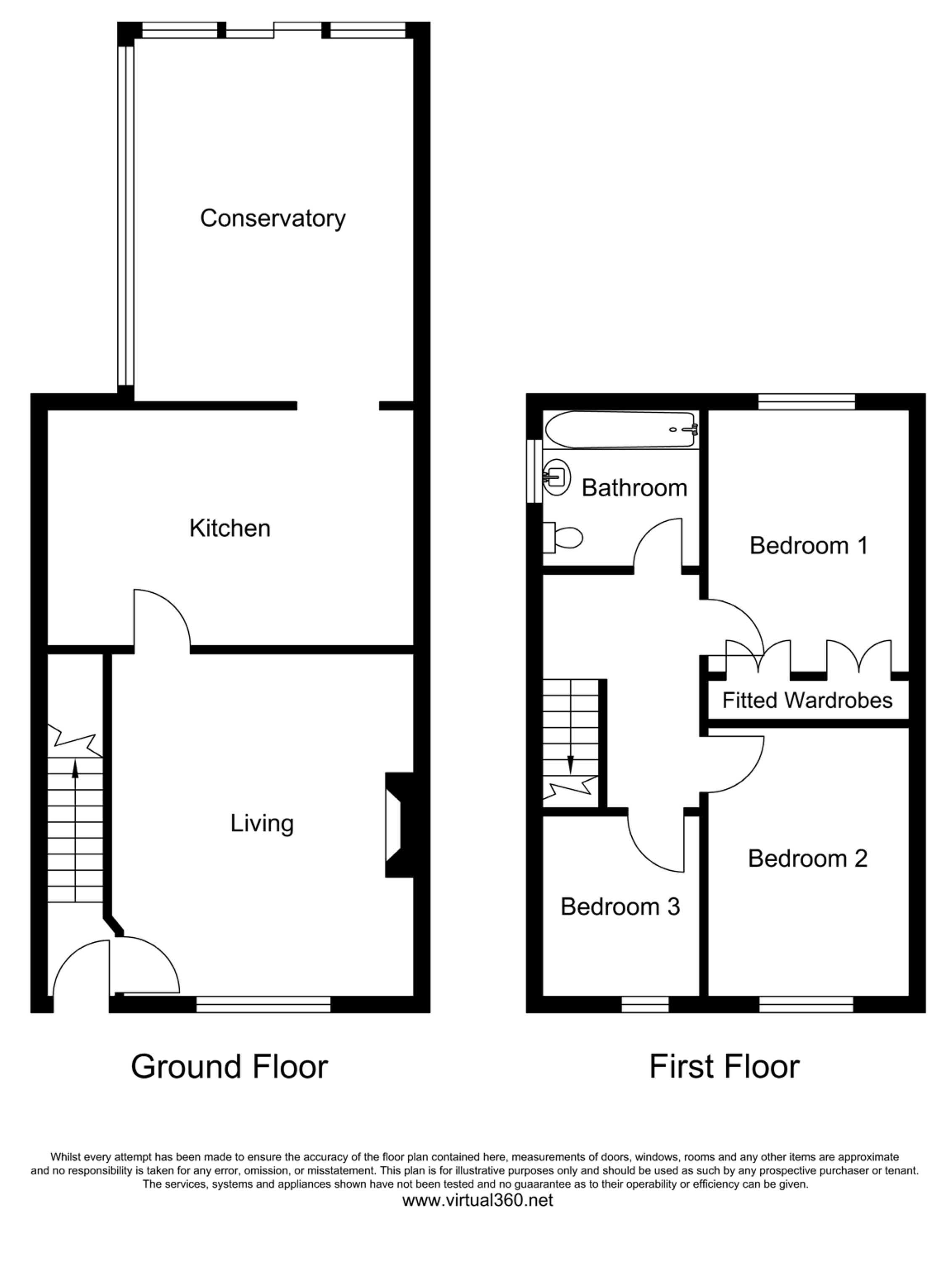 Chatsworth Road, Doncaster, South Yorkshire floor plan