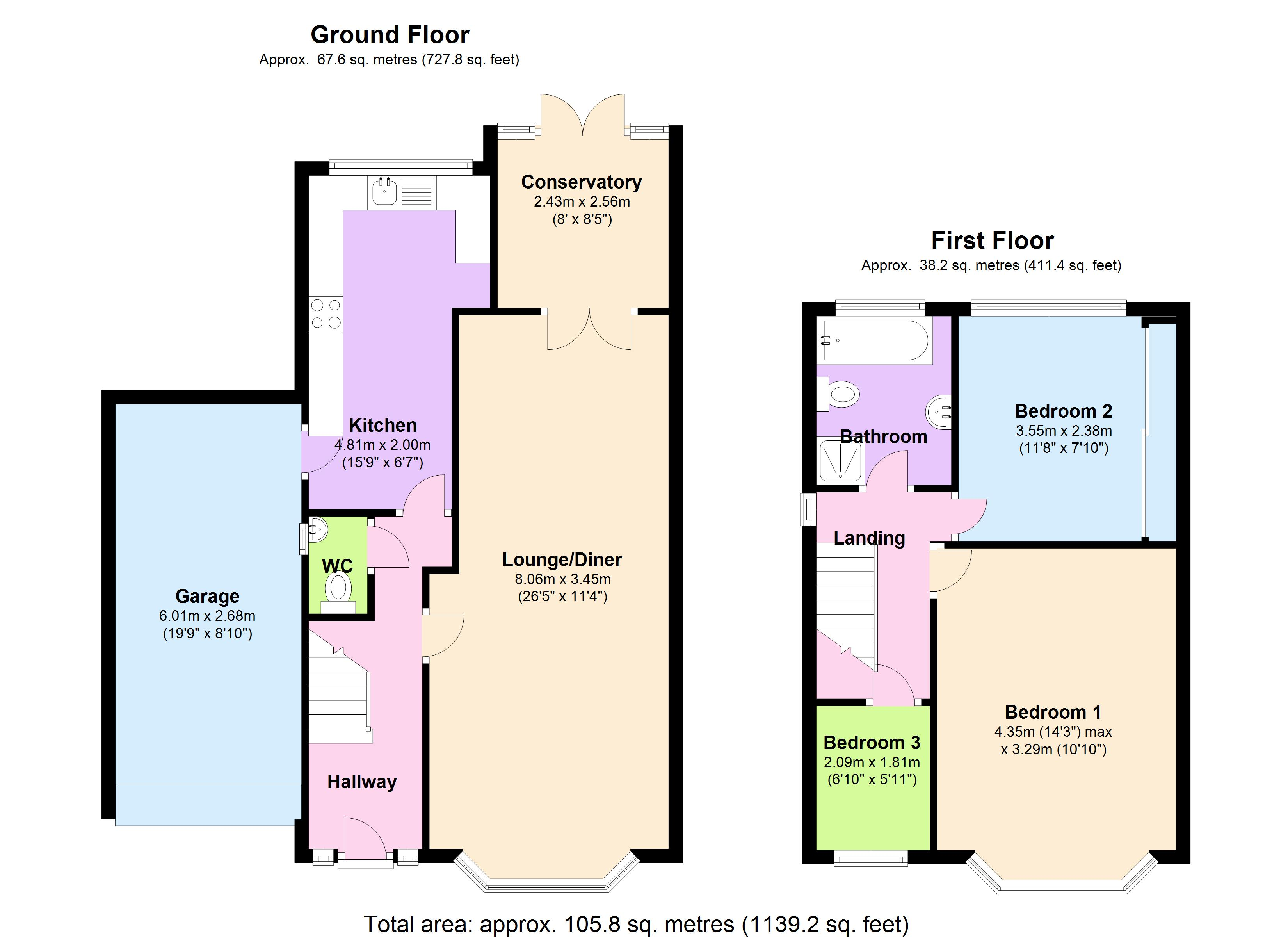 Thornbury Road, Clacton-on-sea, CO15 floor plan