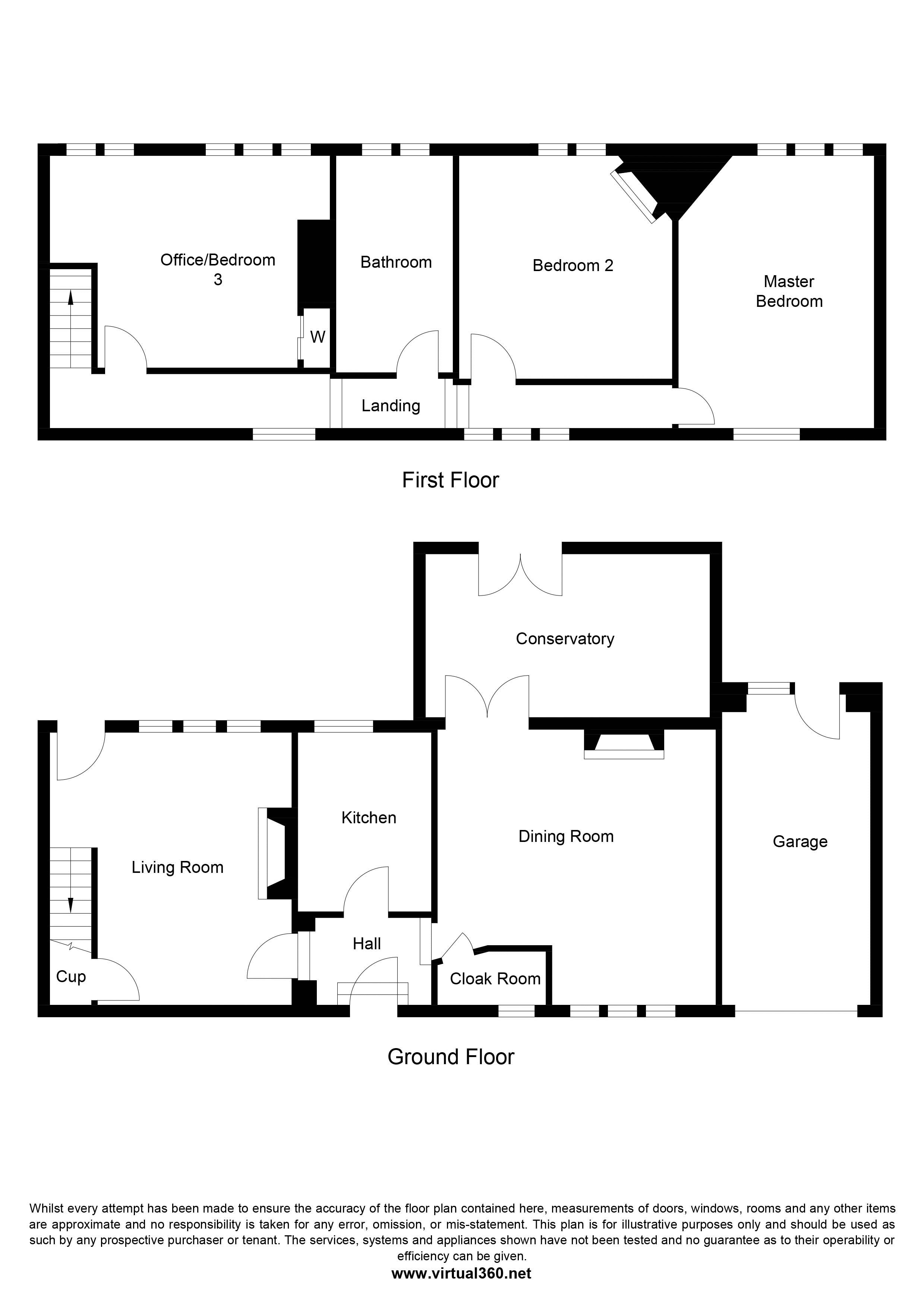 Withinfields, Southowram, Halifax floor plan