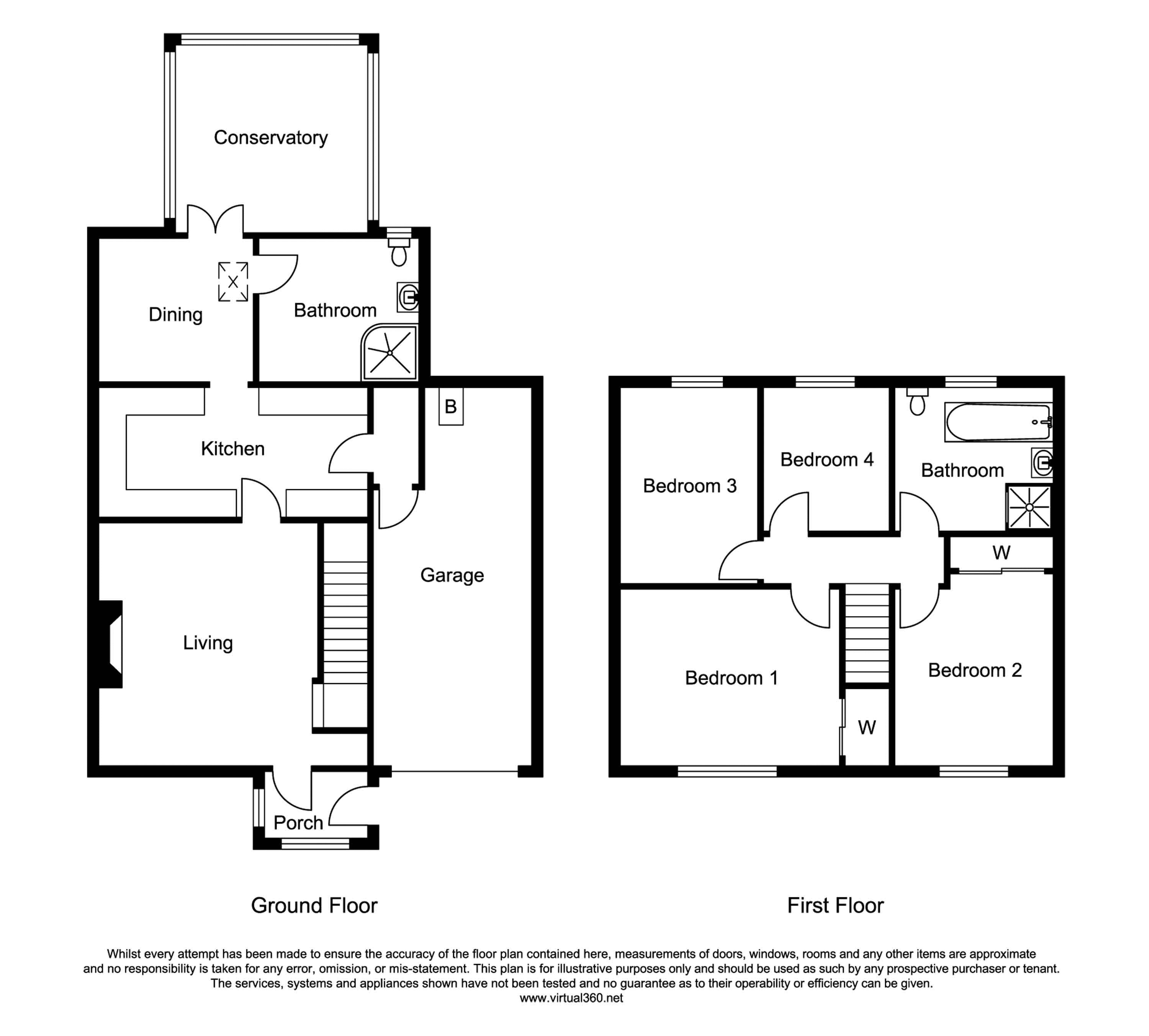 Northampton Road, Northampton floor plan