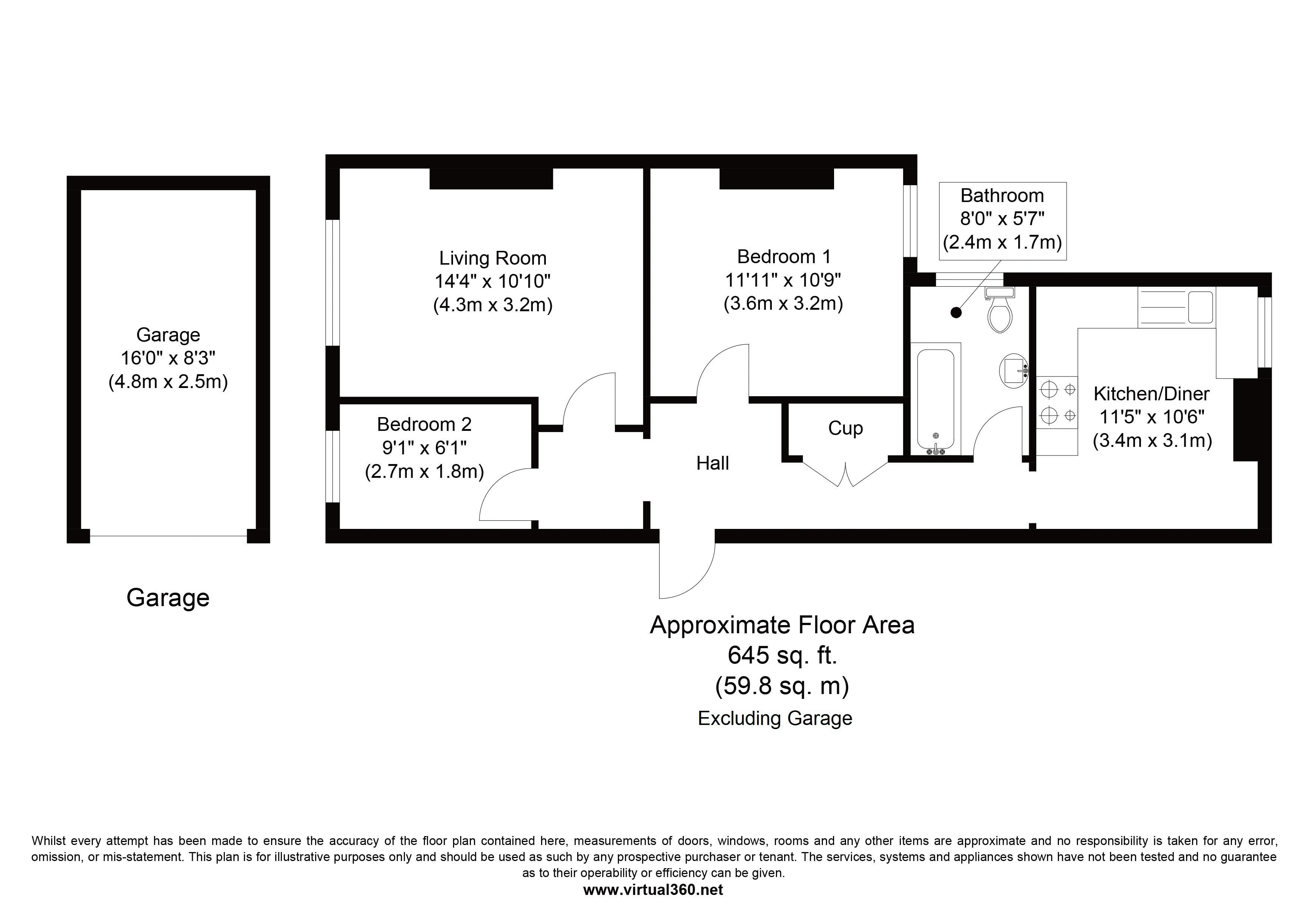Craven Road, Newbury floor plan