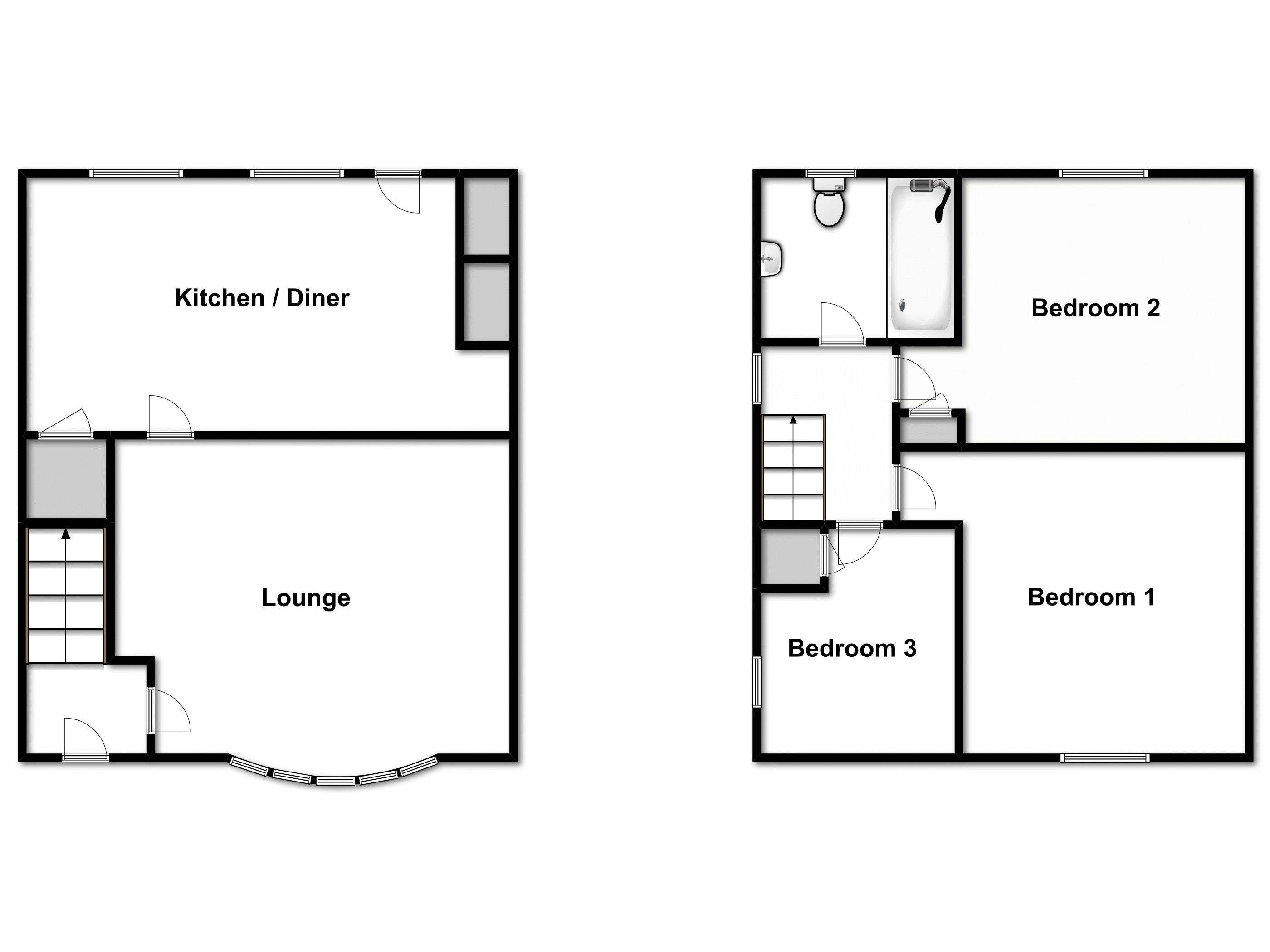 Heybridge Road, Ingatestone, Essex floor plan