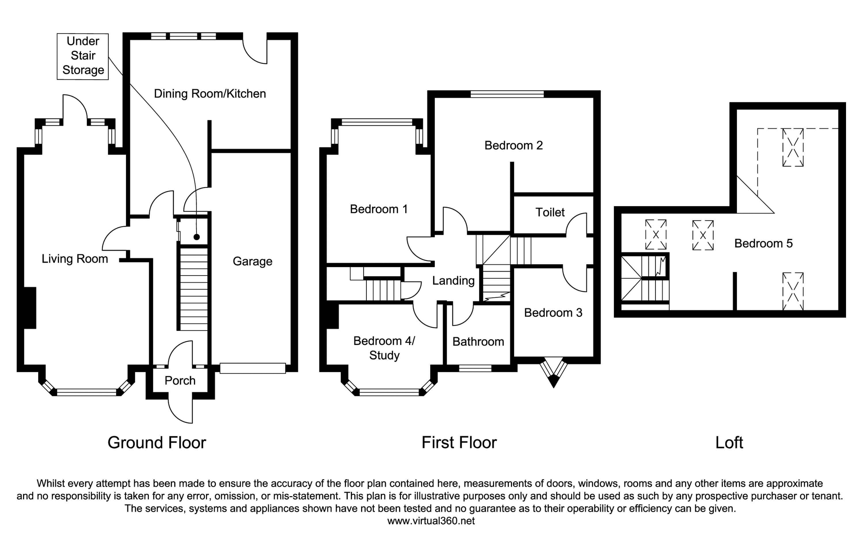 Petersfield Road, Hall Green, Birmingham floor plan