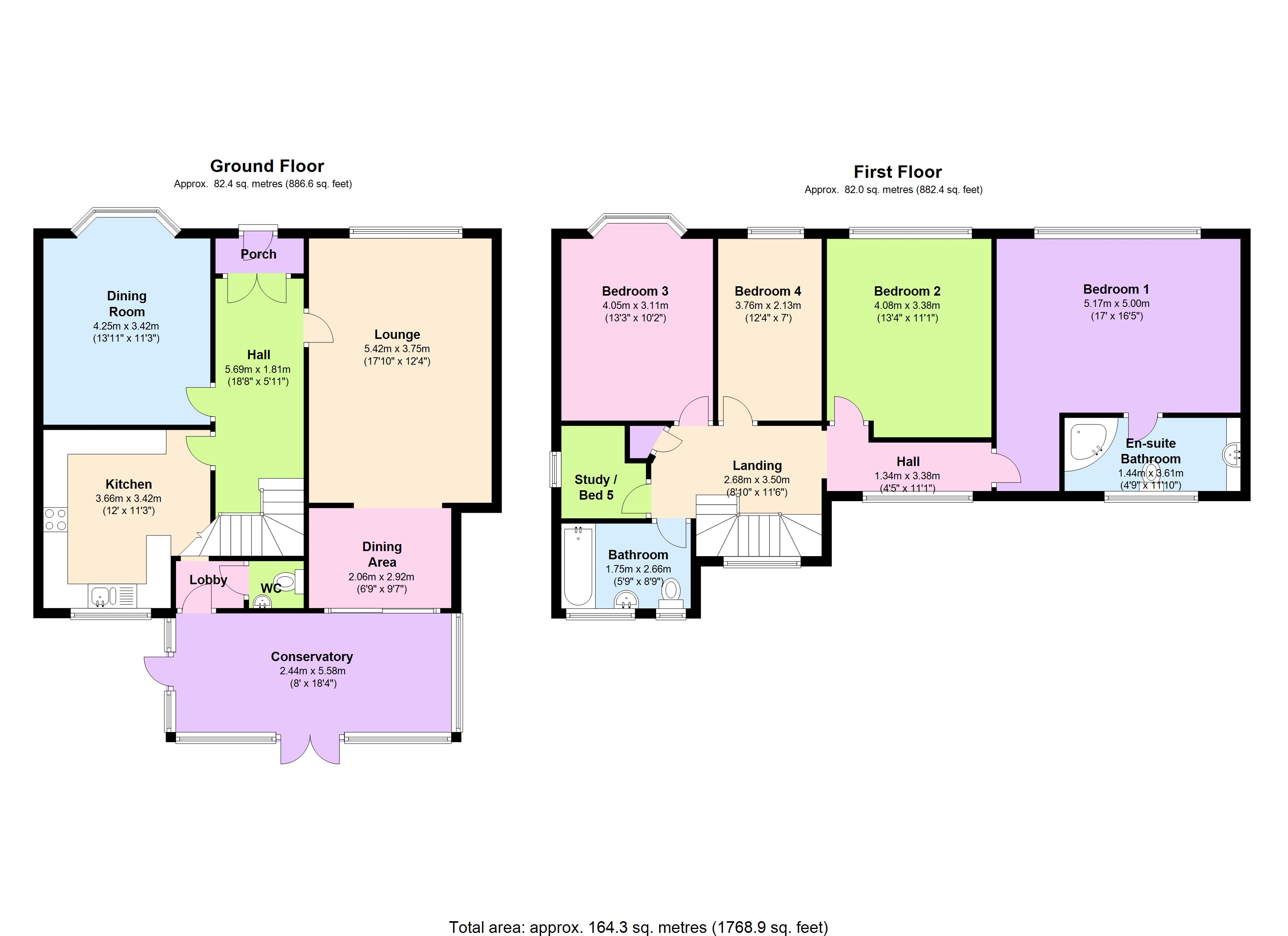 Ridgeview Road, London, N20 floor plan
