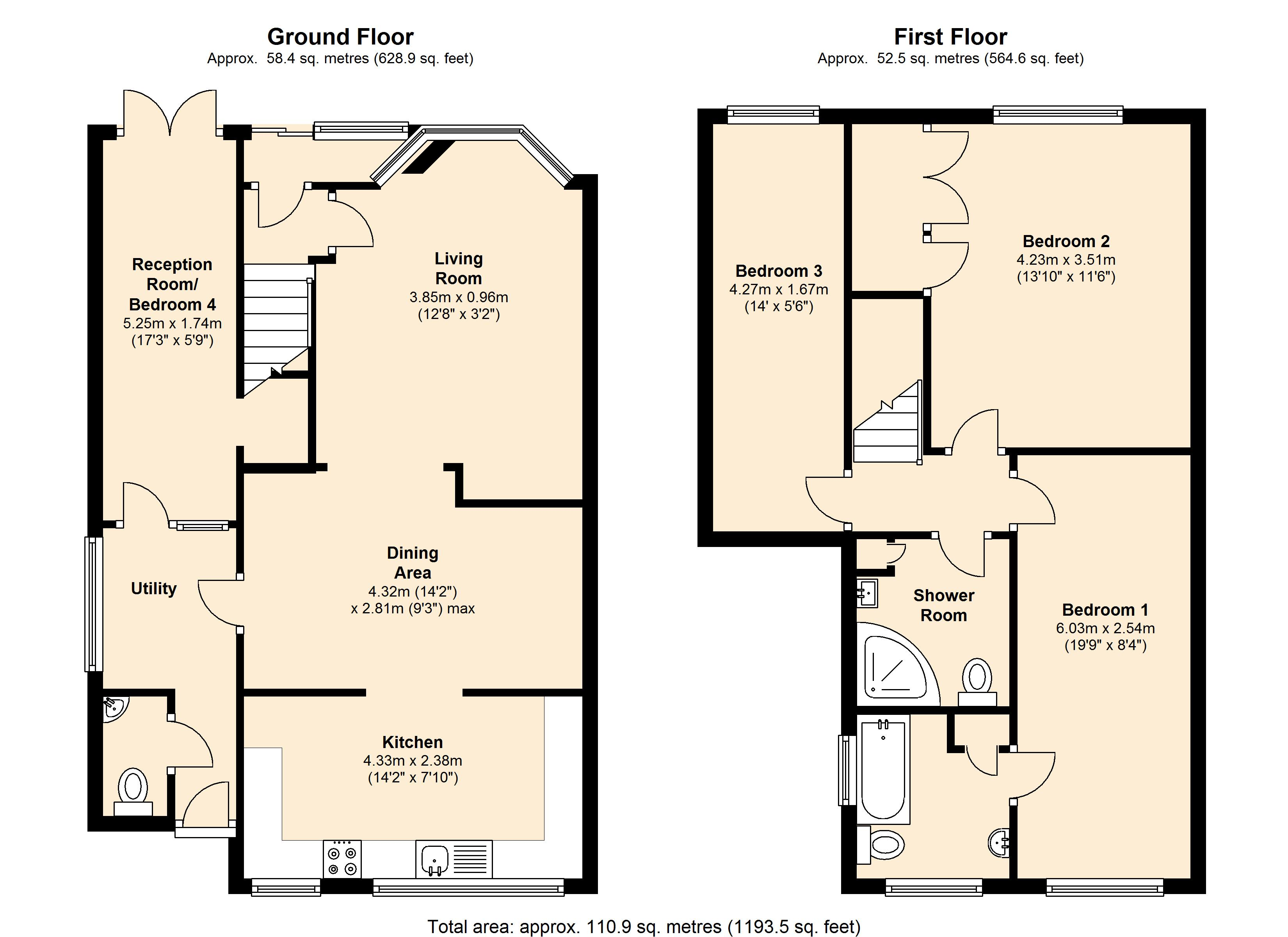 Sandiacre Drive, Thurmaston, Leicester, LE4 floor plan