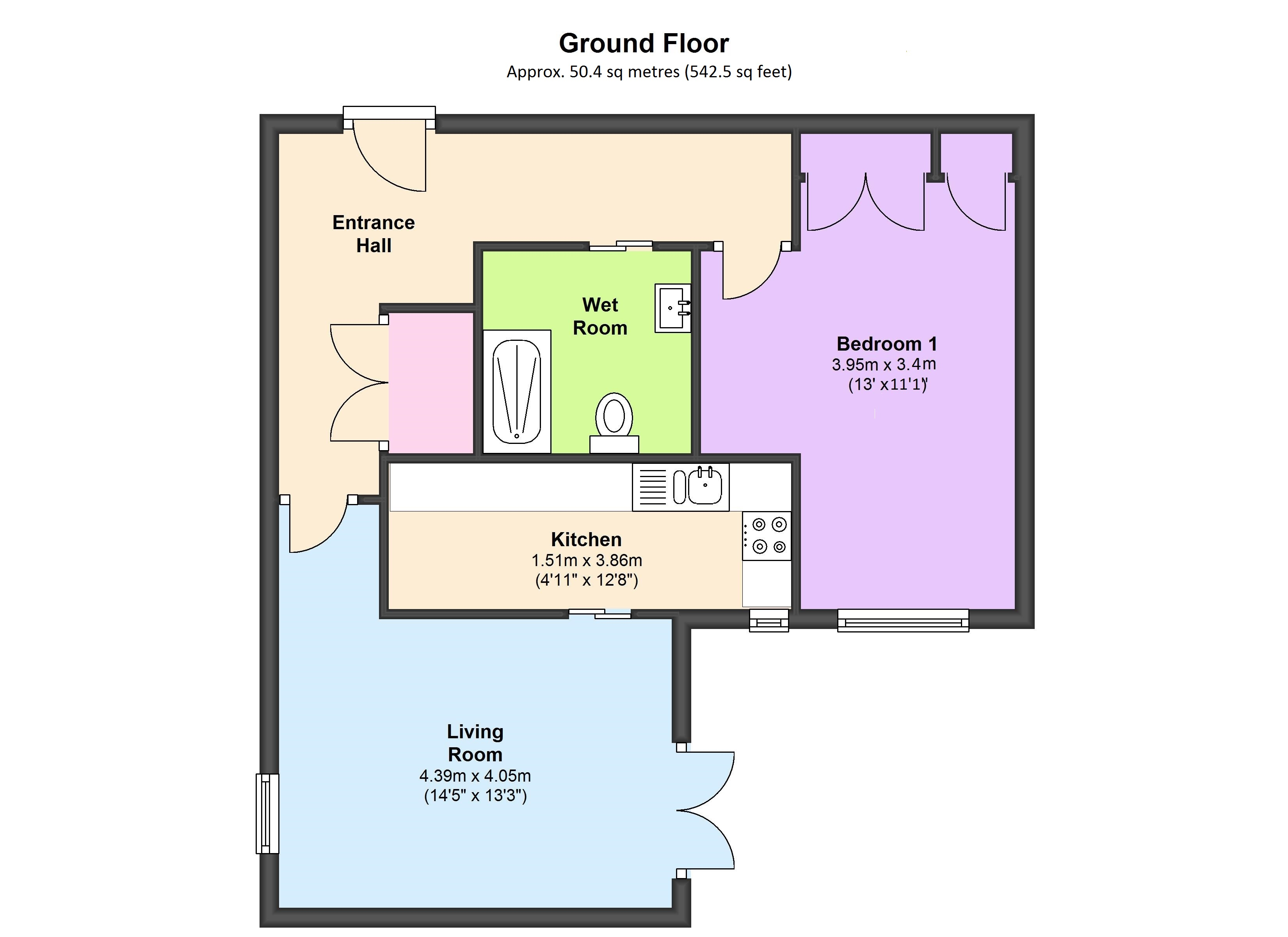 Tiddington Court, Knights Lane, CV37 floor plan
