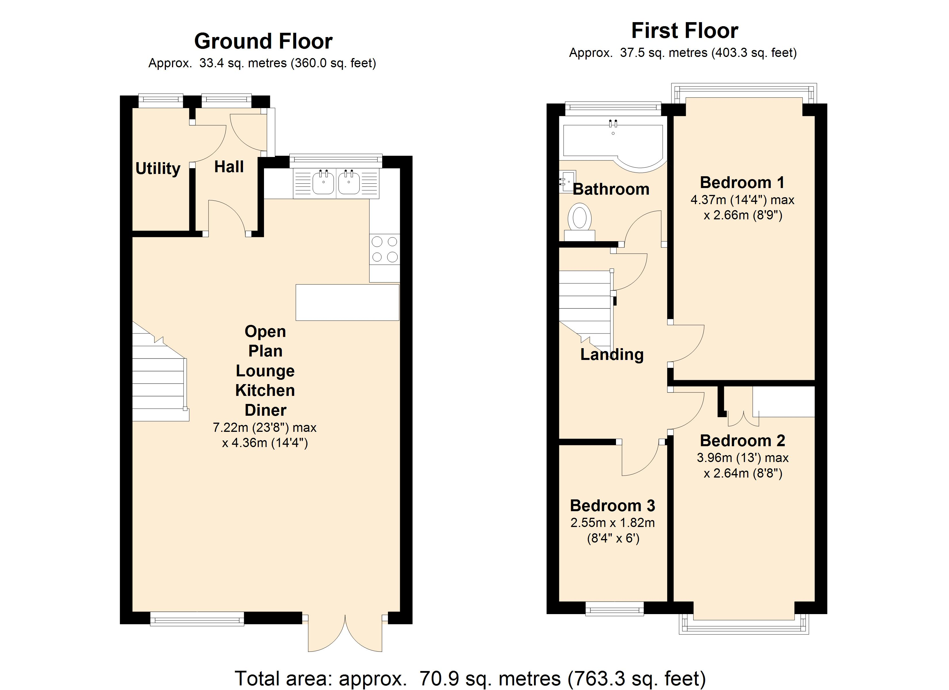 Rectory Terrace, Stanford-le-hope, SS17 floor plan