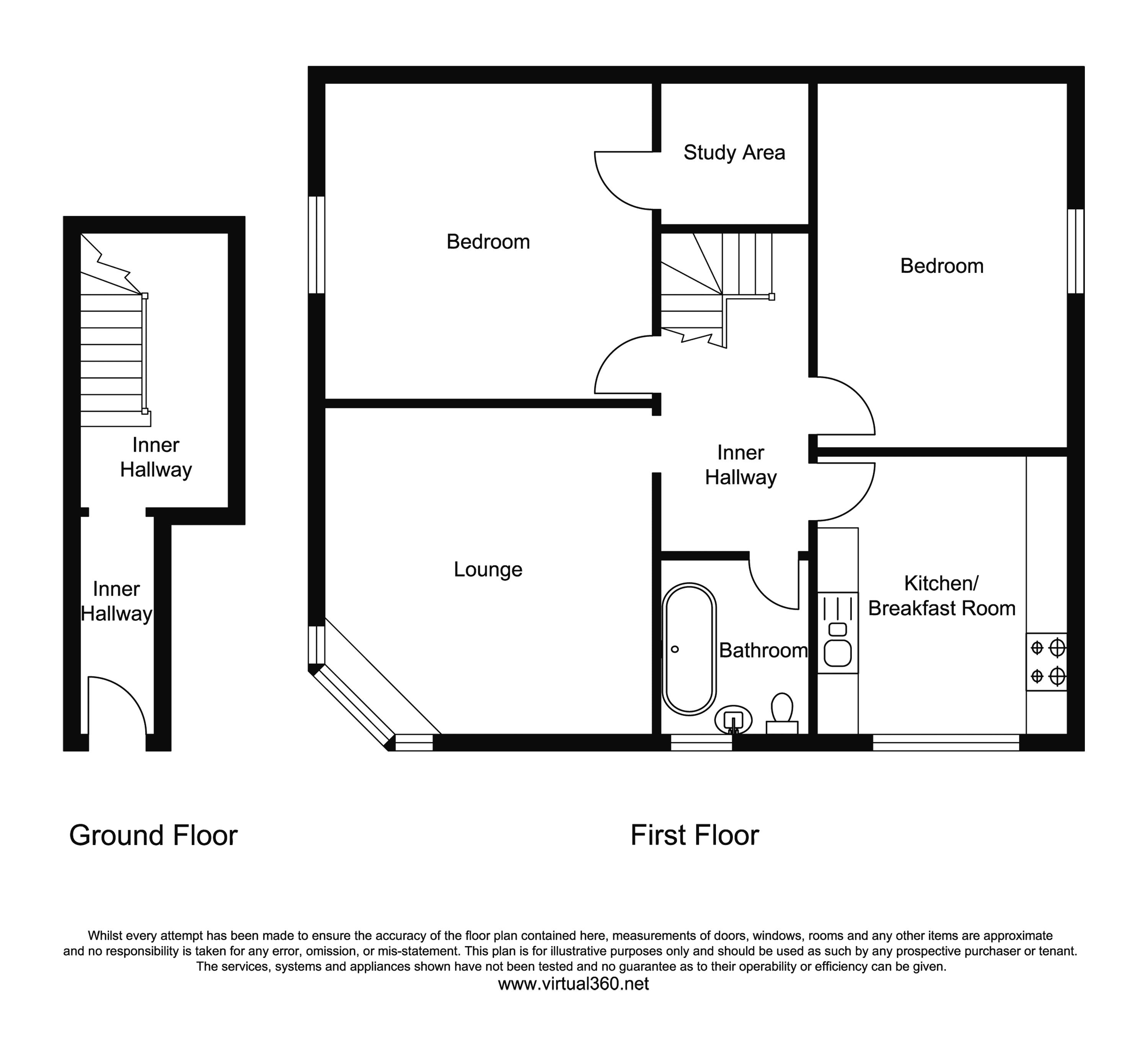 Wimborne Road, Bournemouth floor plan