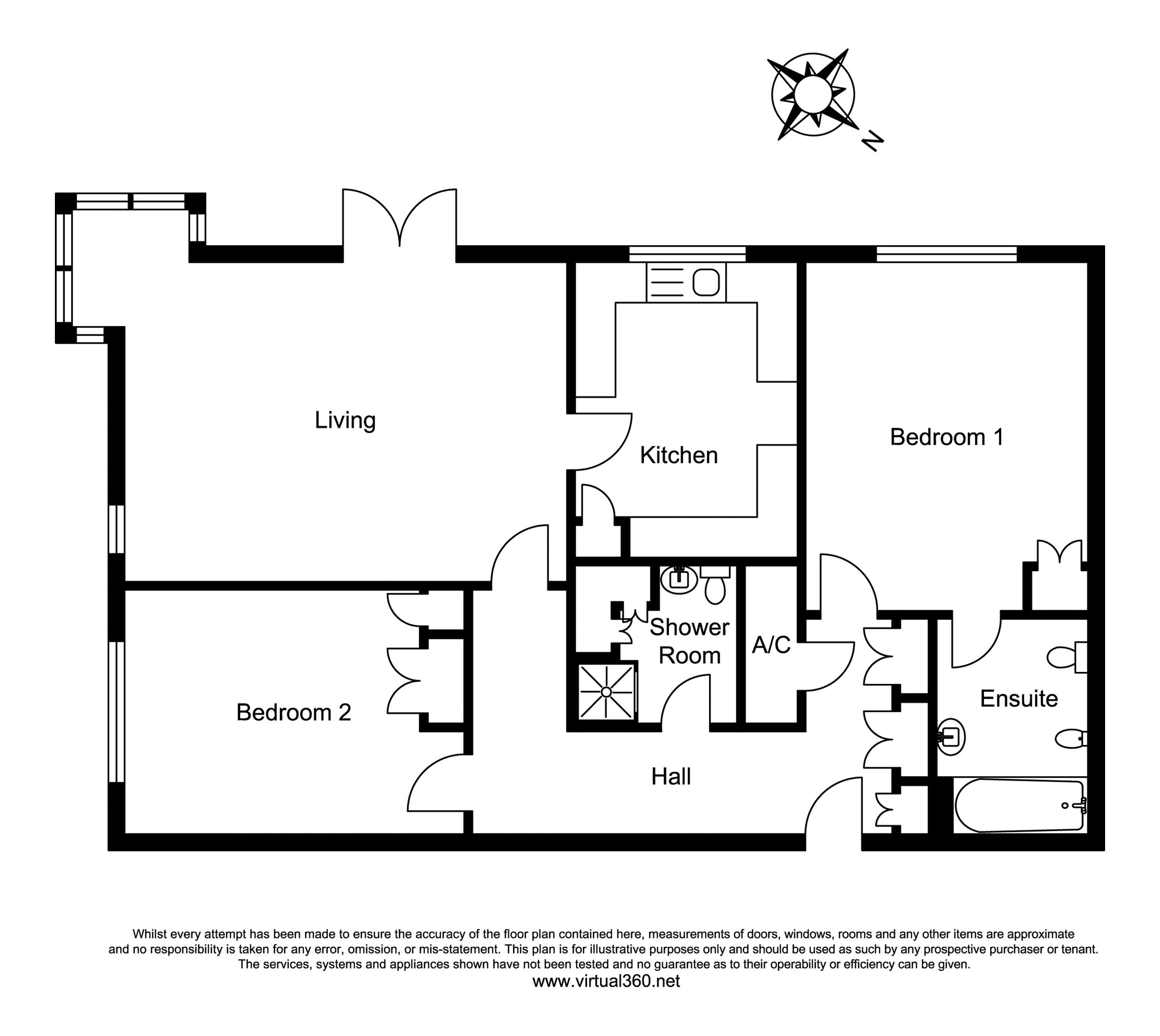 Albert Road, Ferndown floor plan