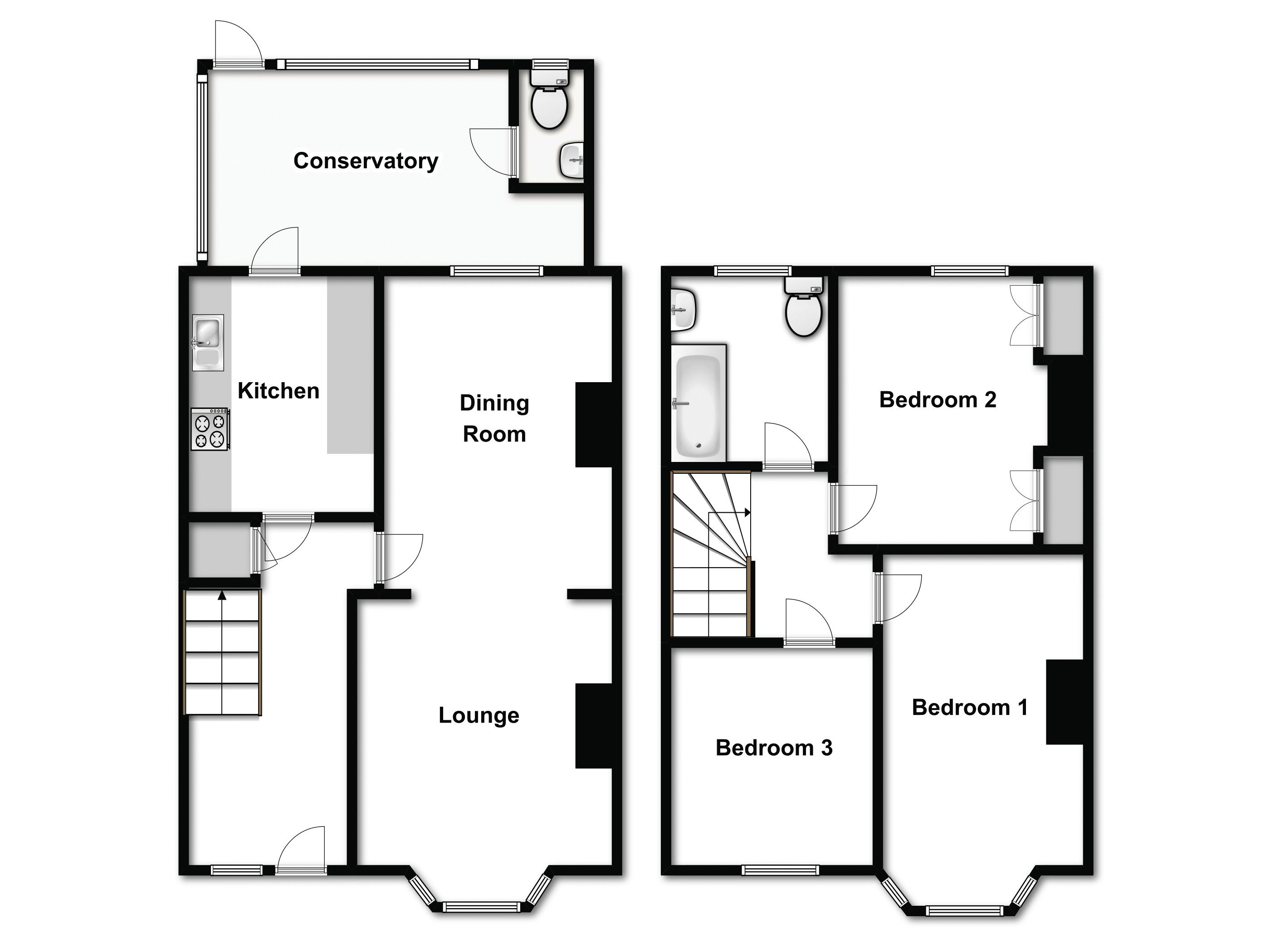 Chadwell Heath, Romford floor plan