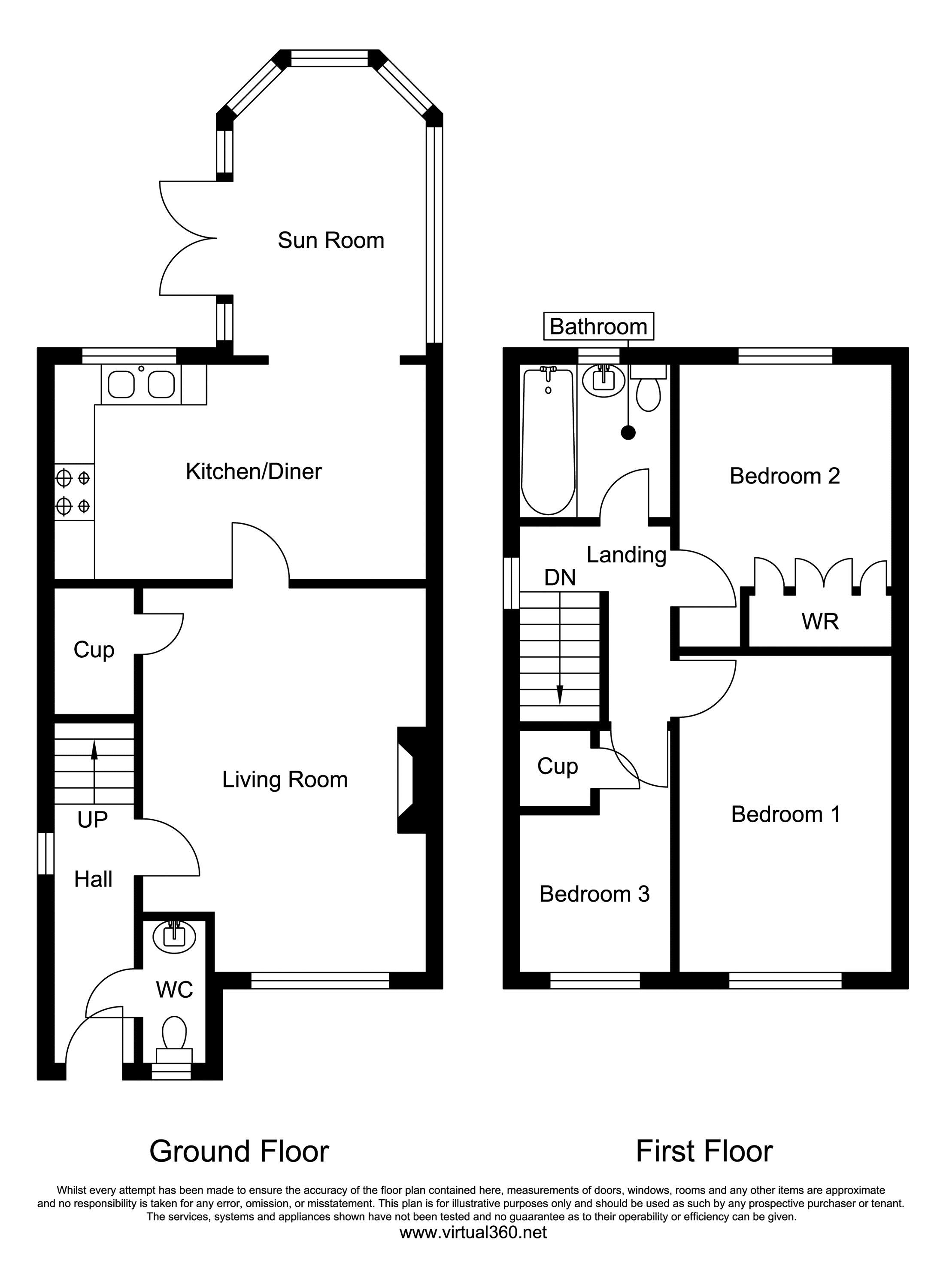 Aspen Park Road, Weston-Super-Mare floor plan