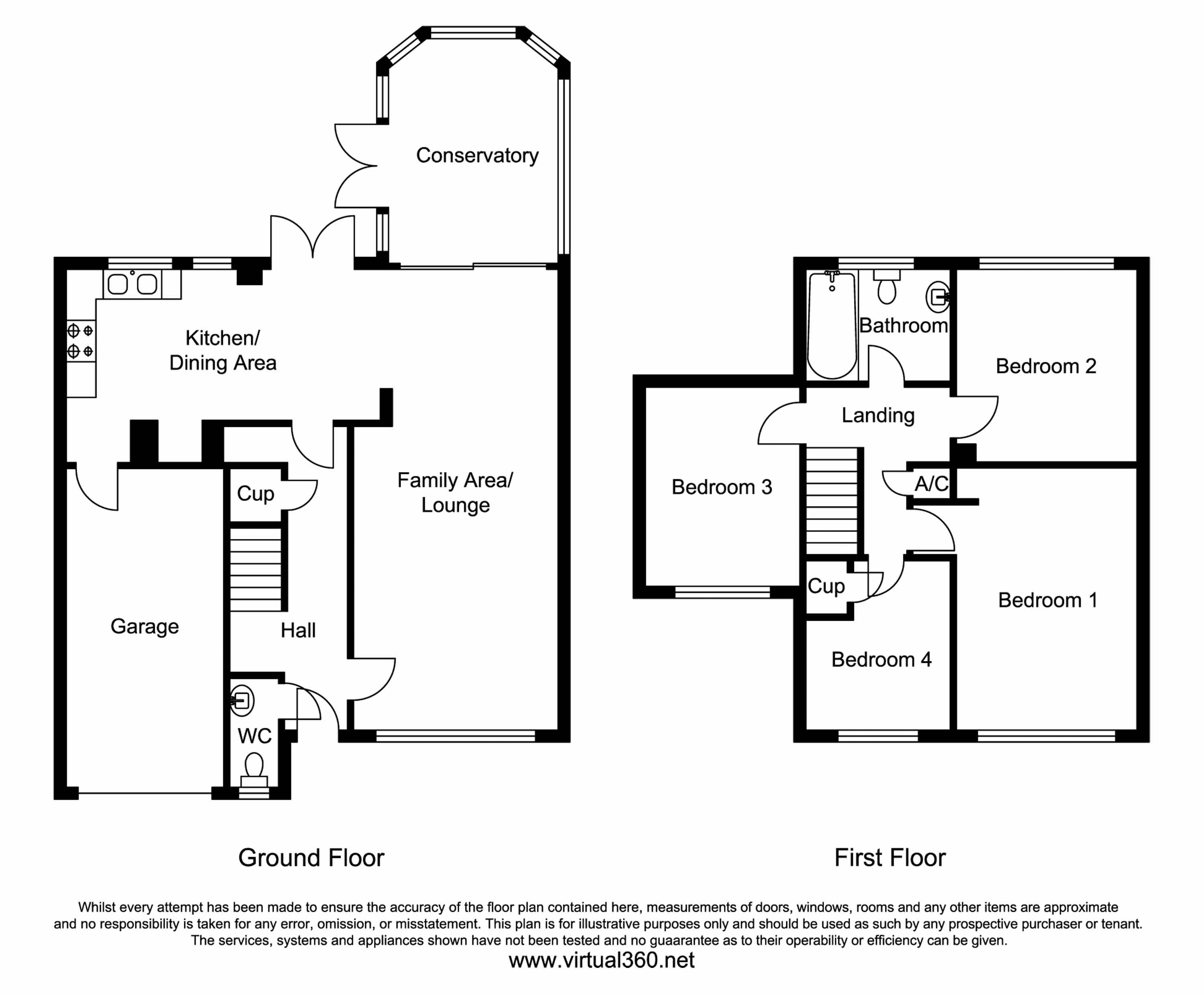 Highlands Close, Corsham floor plan