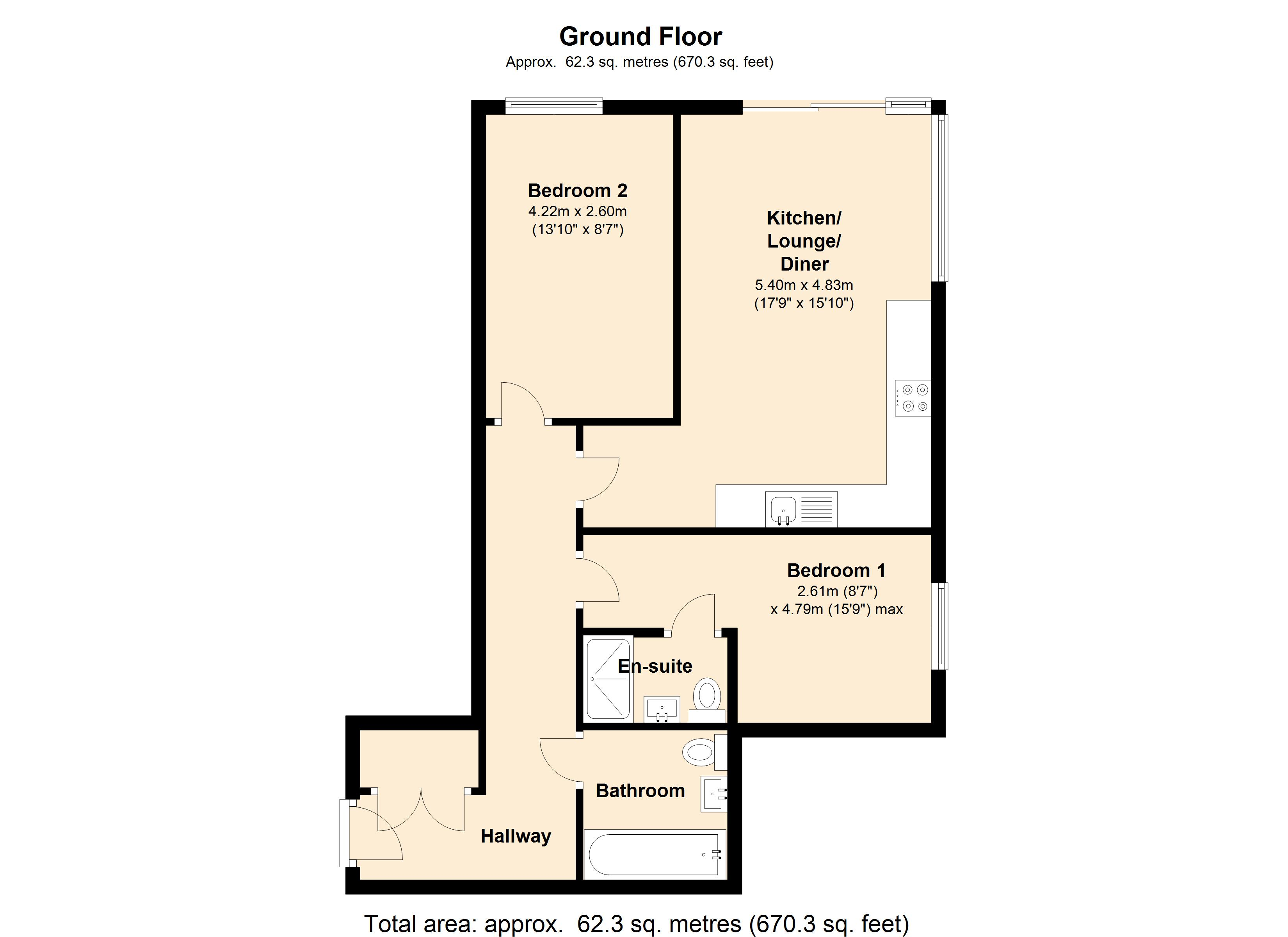 Plaza Quarter 1, Fitzwilliam Street, Barnsley, S70 floor plan