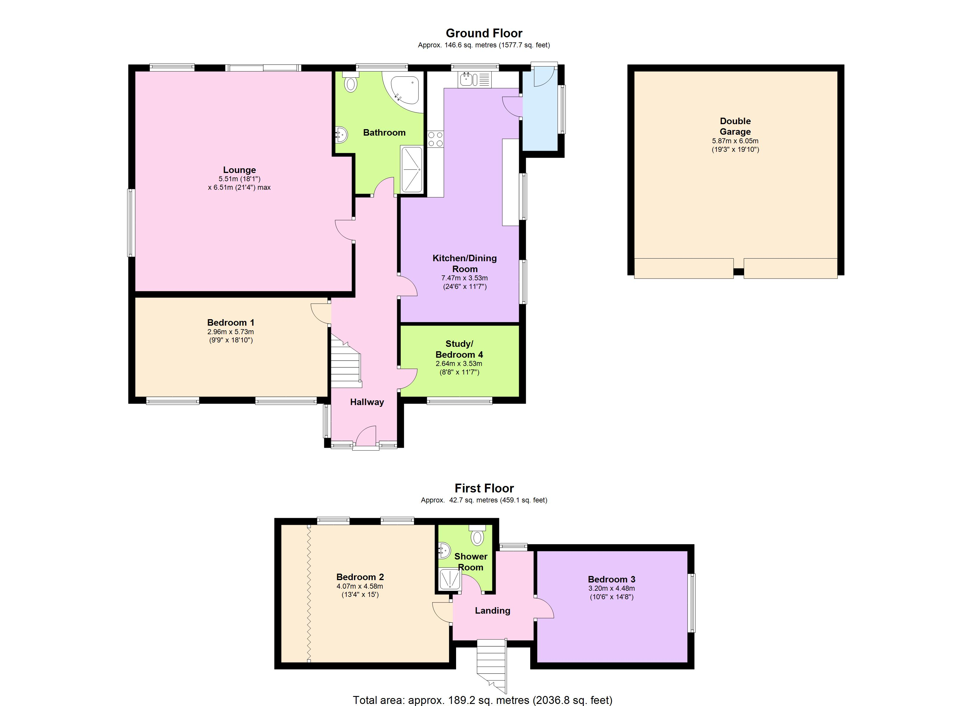 Lower Road, Hockley, SS5 floor plan