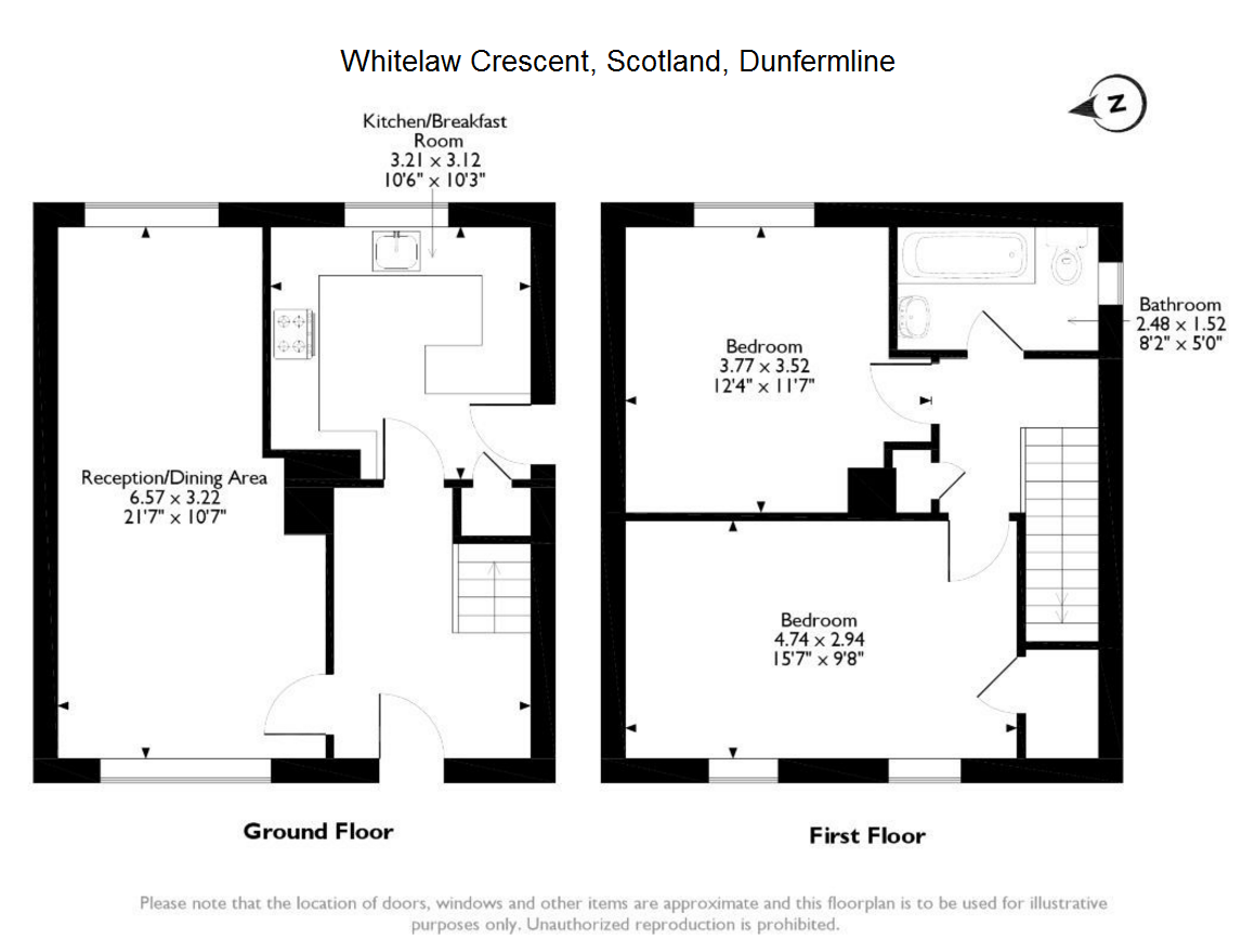 Whitelaw Crescent,Dunfermline, Scotland, KY11 floor plan