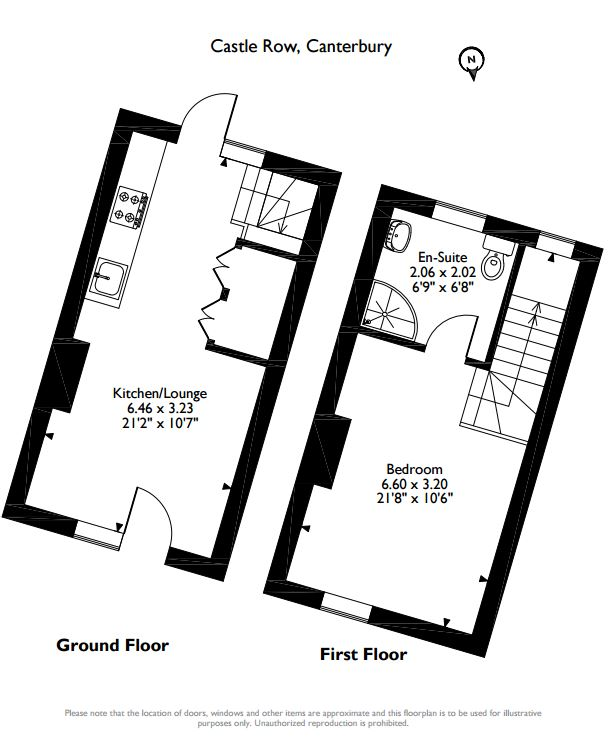 Castle Row, Canterbury, Kent, CT1 floor plan
