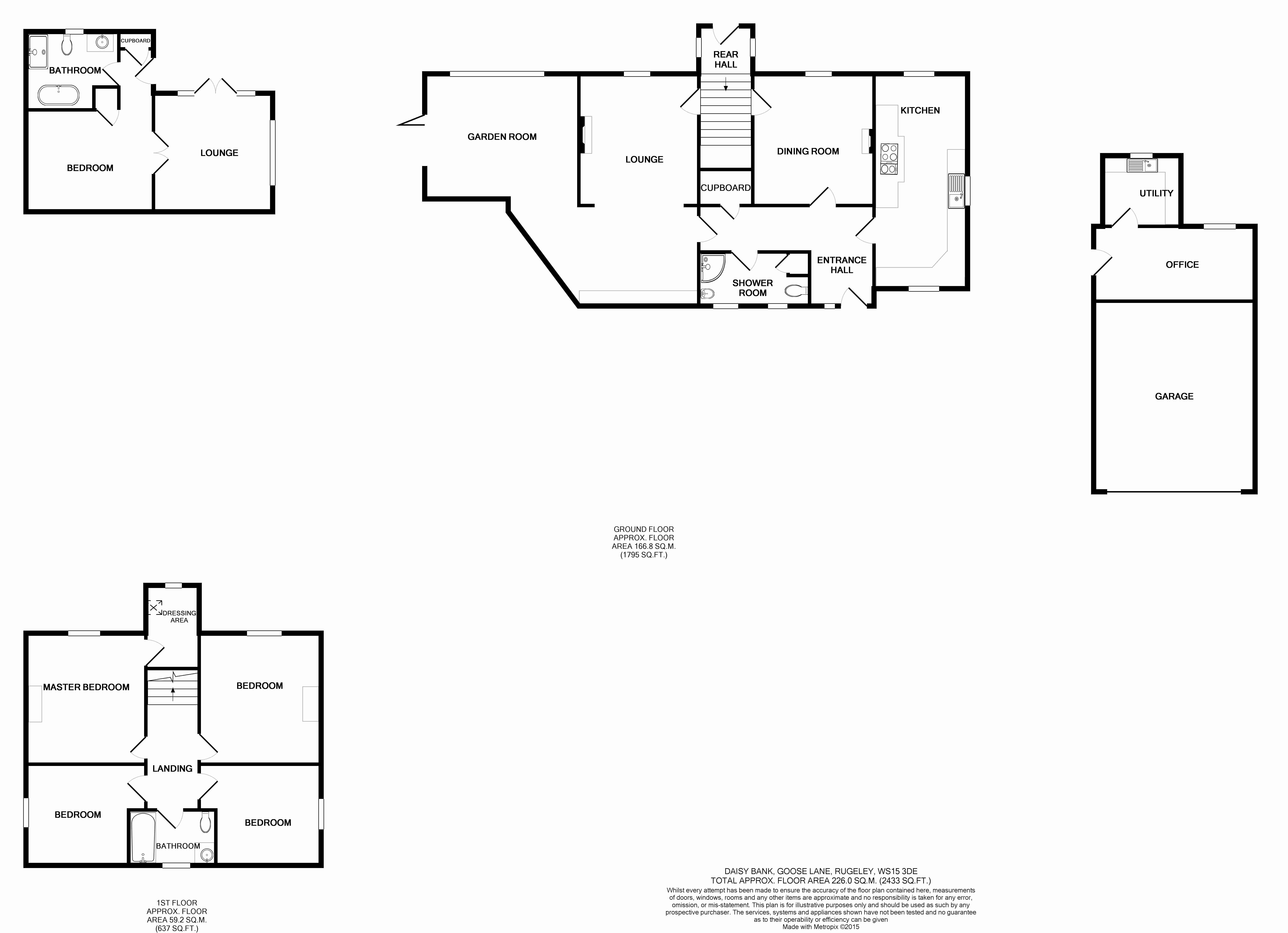 Daisy Bank, Abbots Bromley, Rugeley, WS15 floor plan