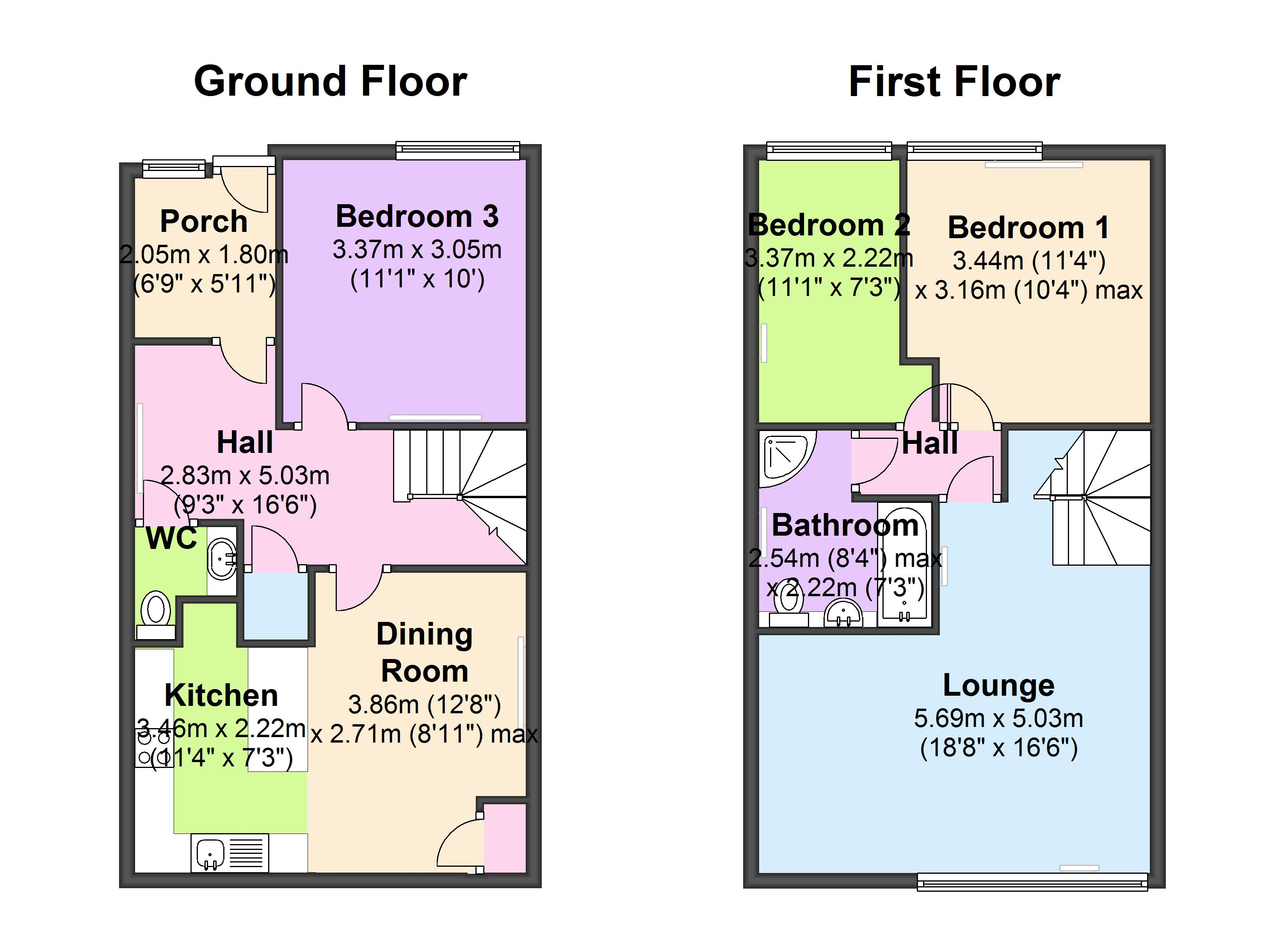Wills Hill, Stanford-Le-Hope floor plan