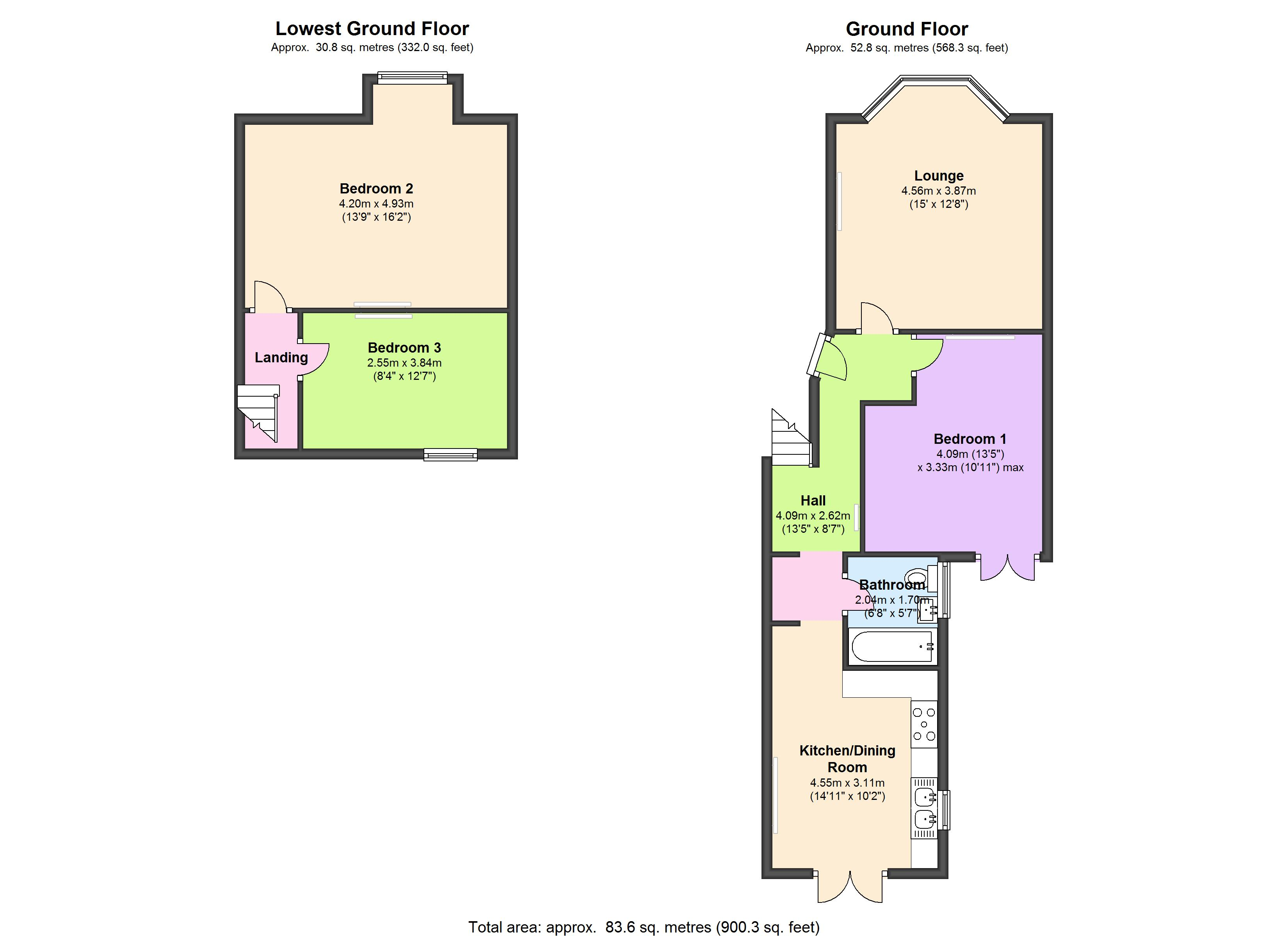 Brooke Road, London, N16 floor plan