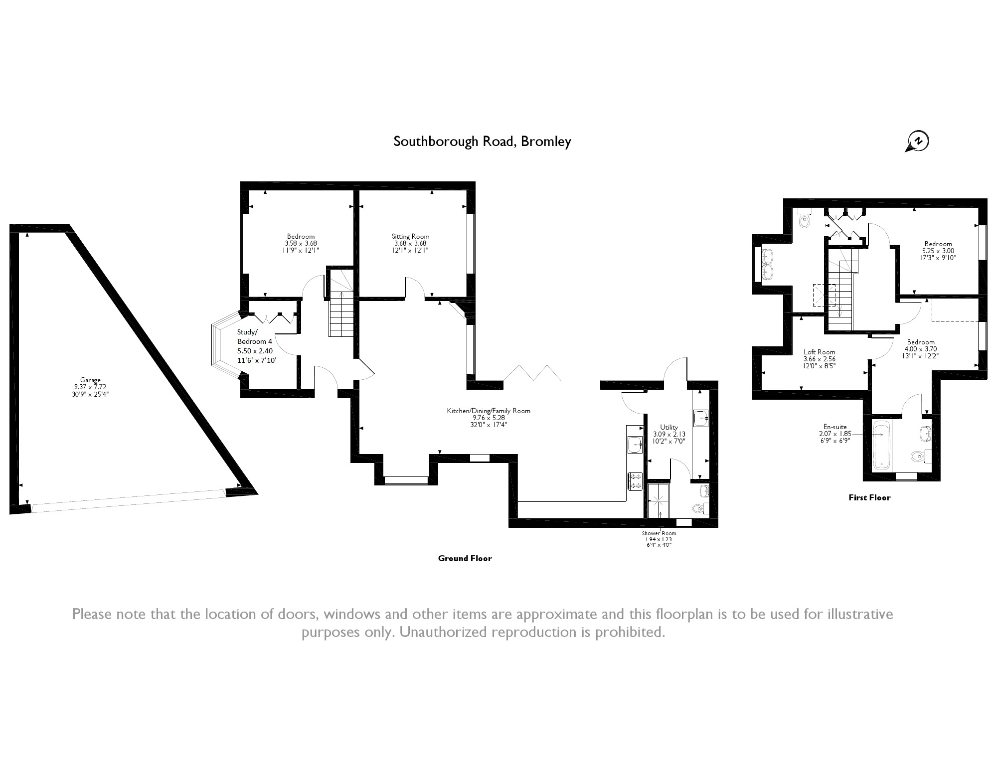 Southborough Road, Bromley, BR1 floor plan