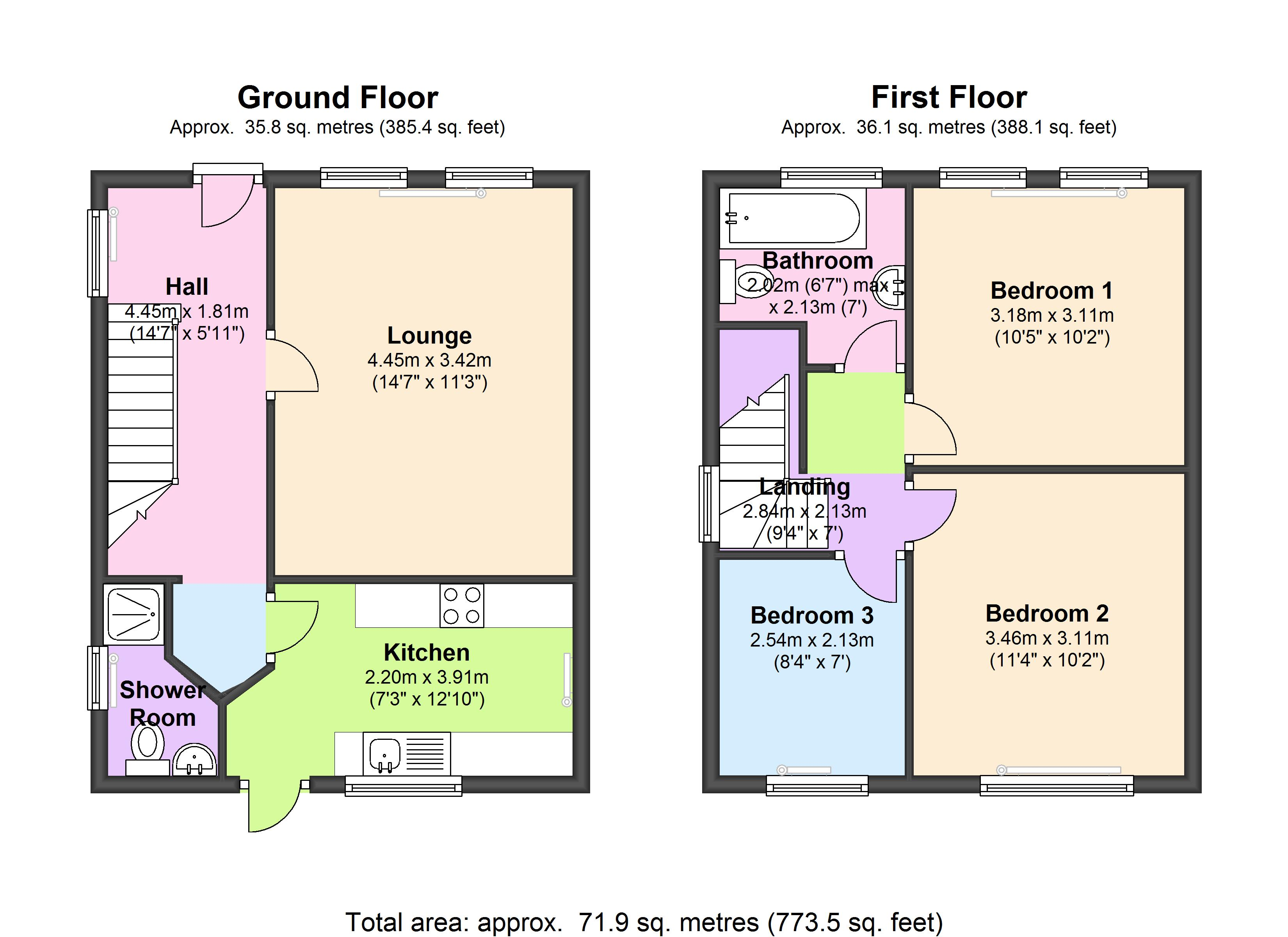 Hillfield Avenue, Wembley, HA0 floor plan