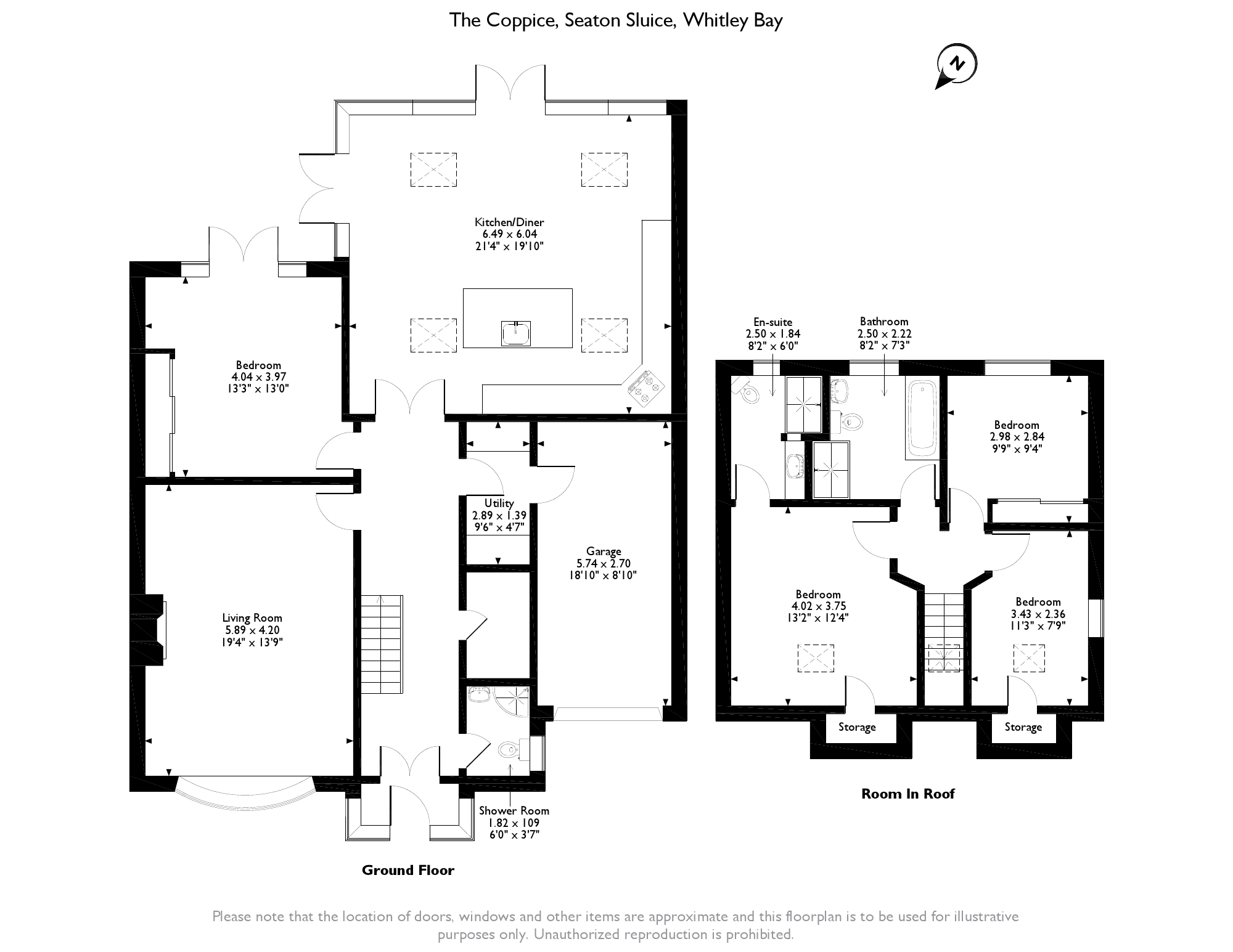 The Coppice, Seaton Sluice, Whitley Bay, NE26 floor plan