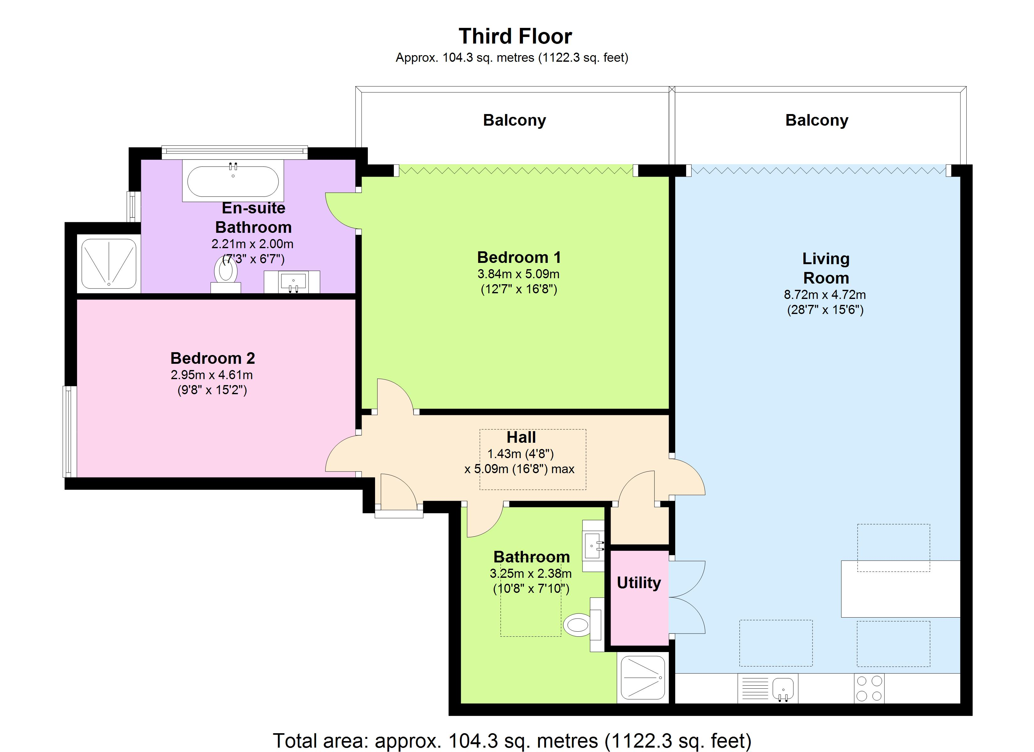 Concord House, 61 High Street  Brentford, TW8 floor plan