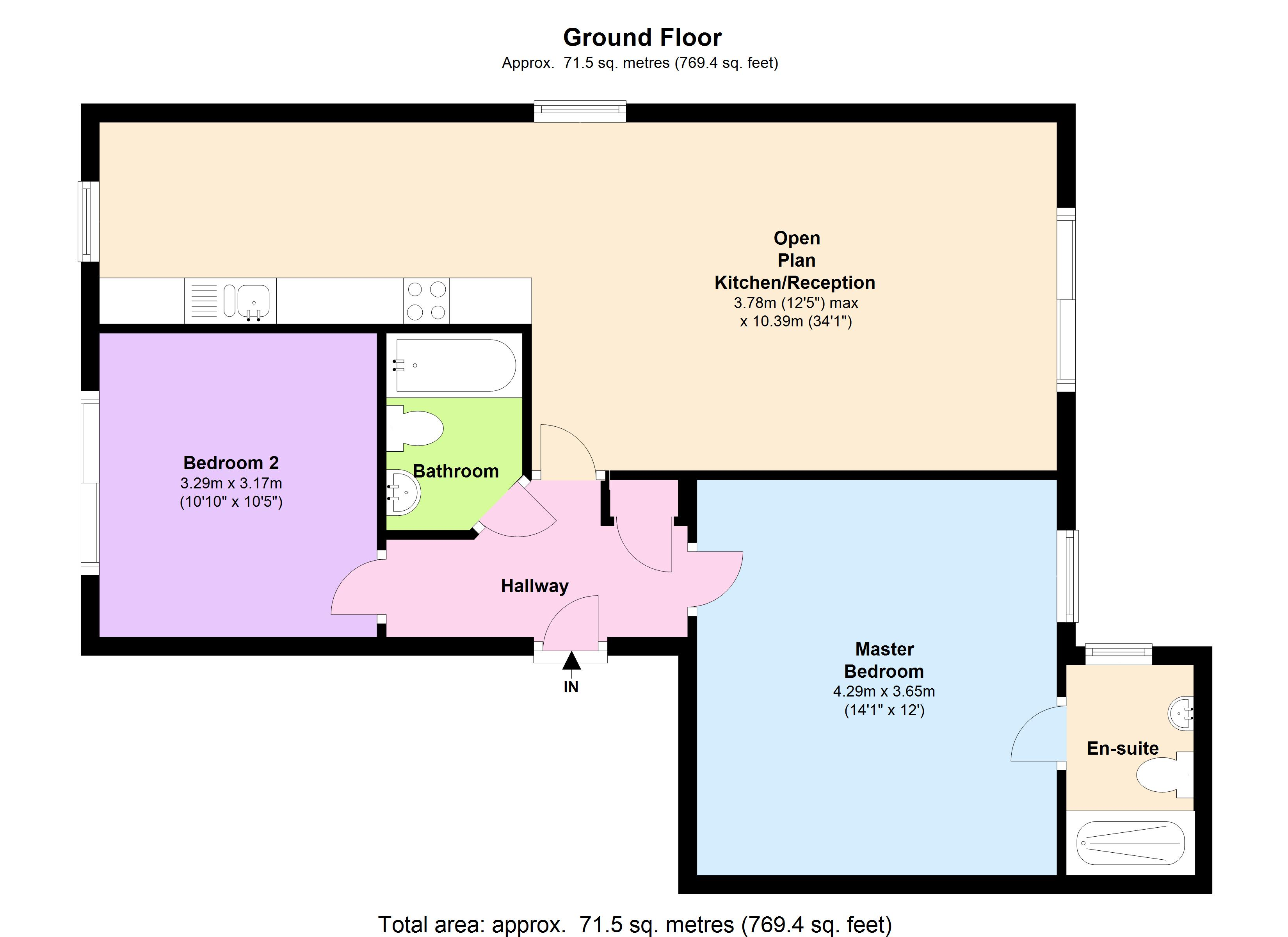 Montem Road, London, SE23 floor plan