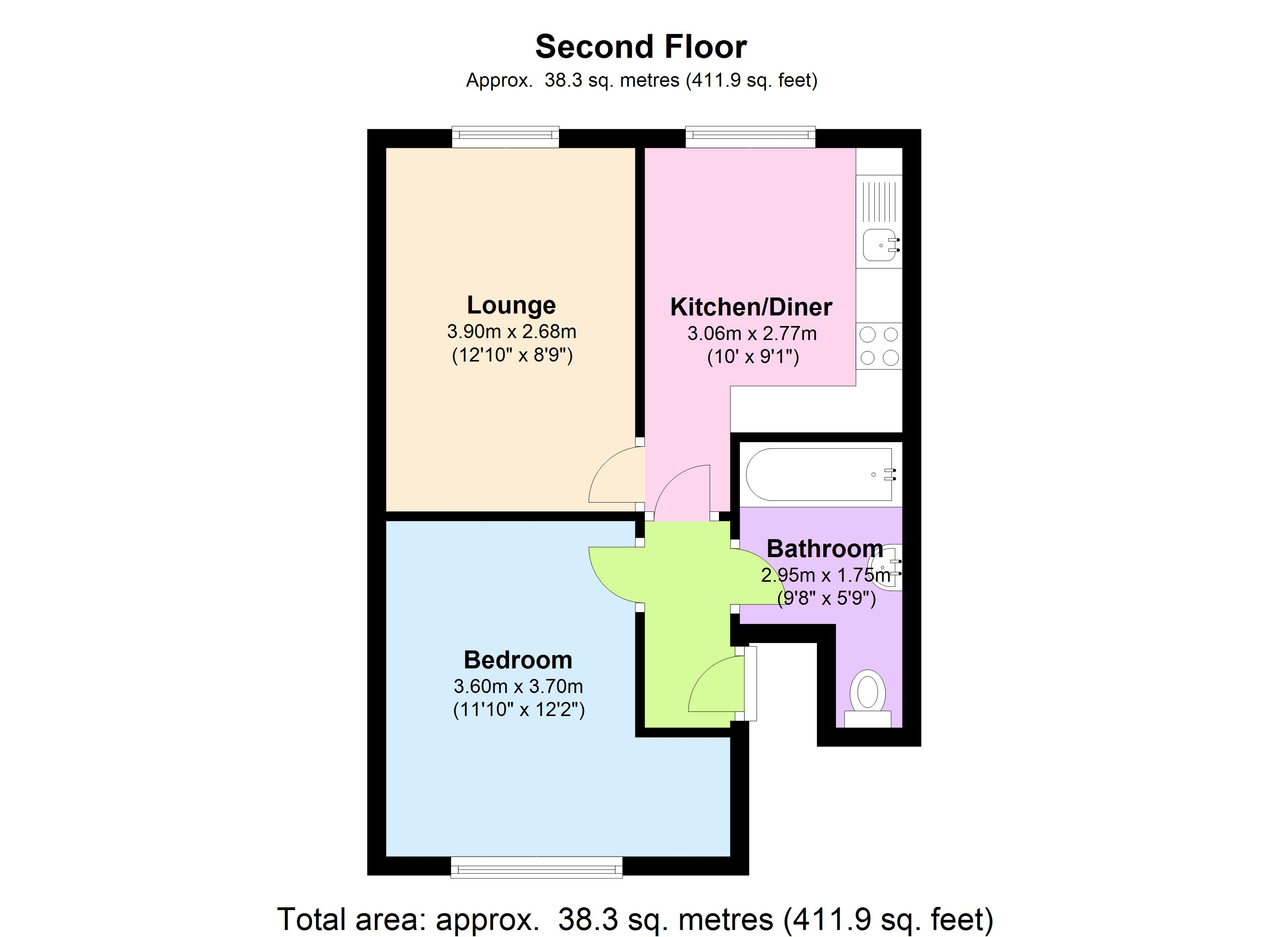 Malden Road, London, NW5 floor plan