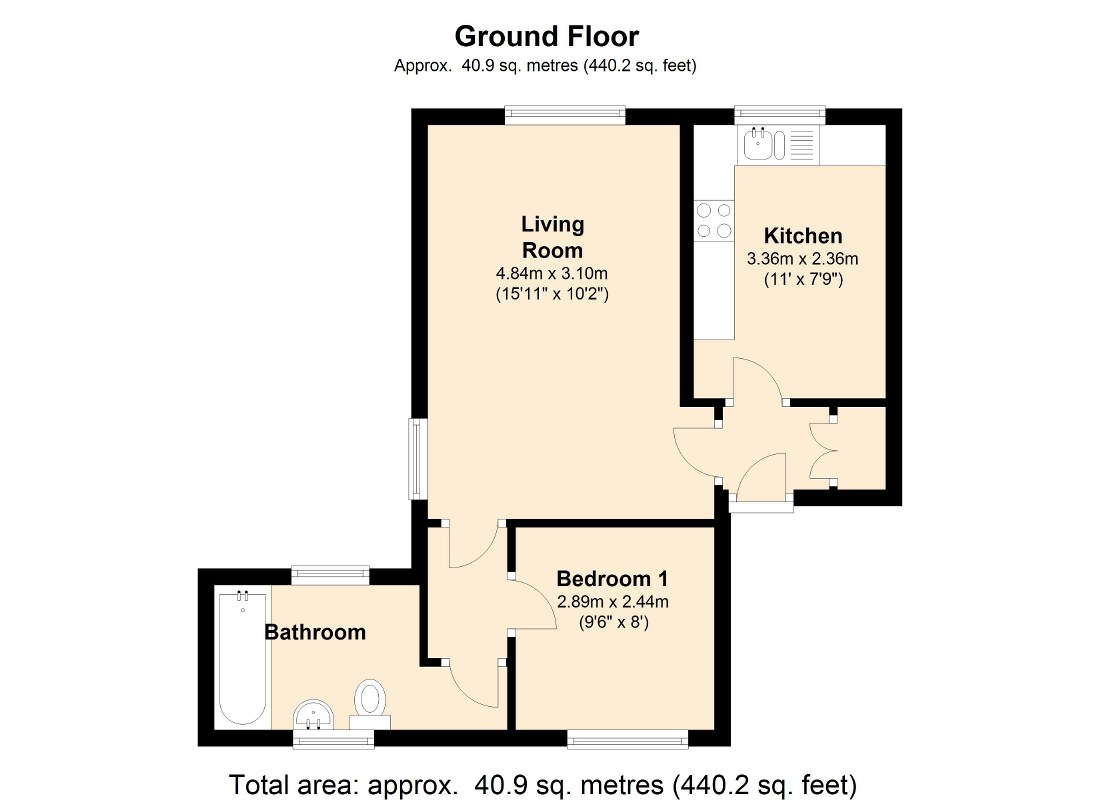 Tannery Court, Pudsey, LS28 floor plan