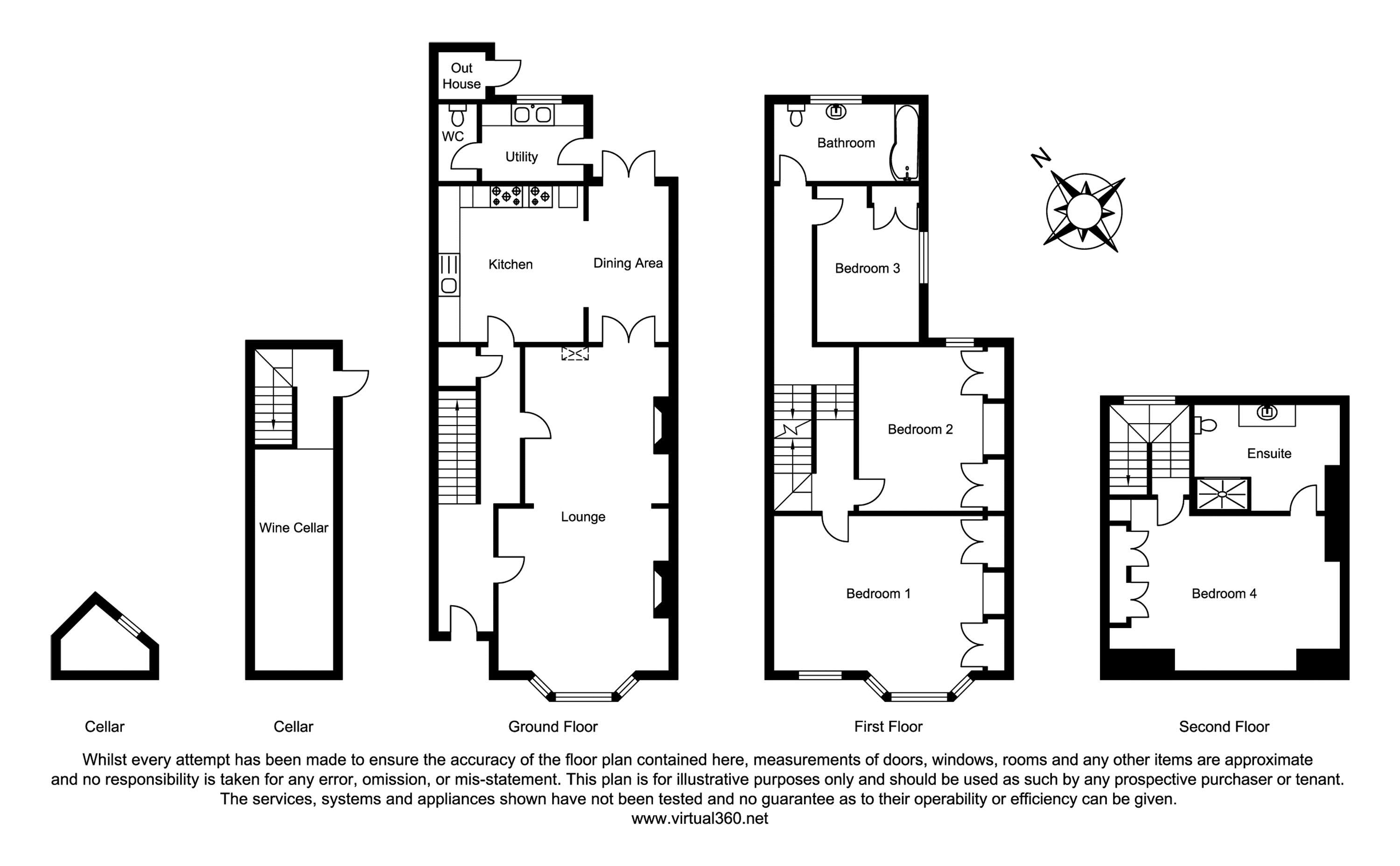 Kings Road, Cardiff floor plan