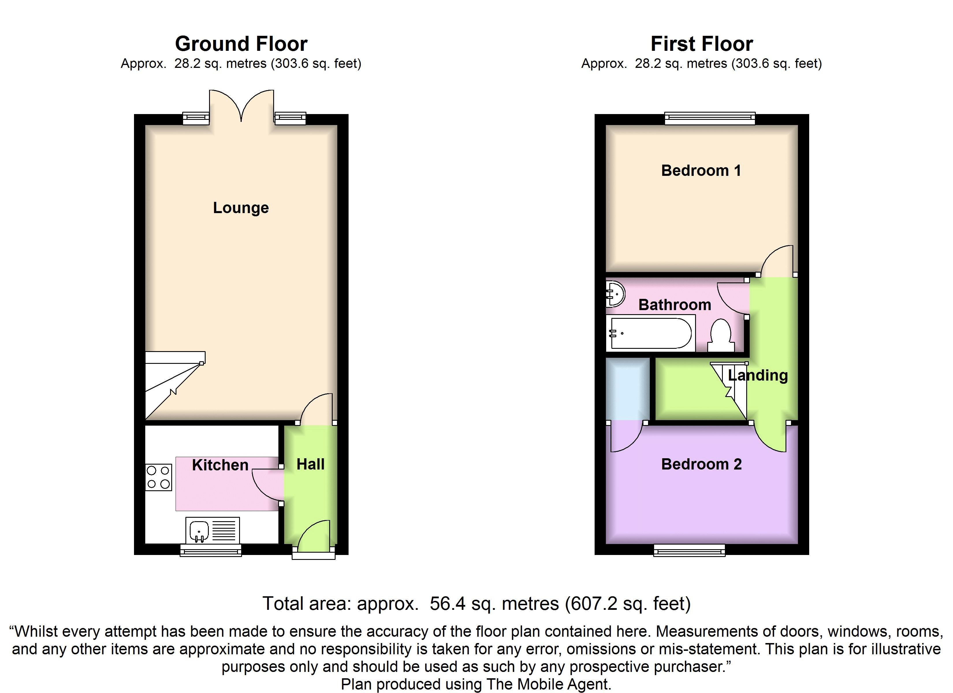 Grange Wk, Bishop's Stortford, Hertfordshire floor plan