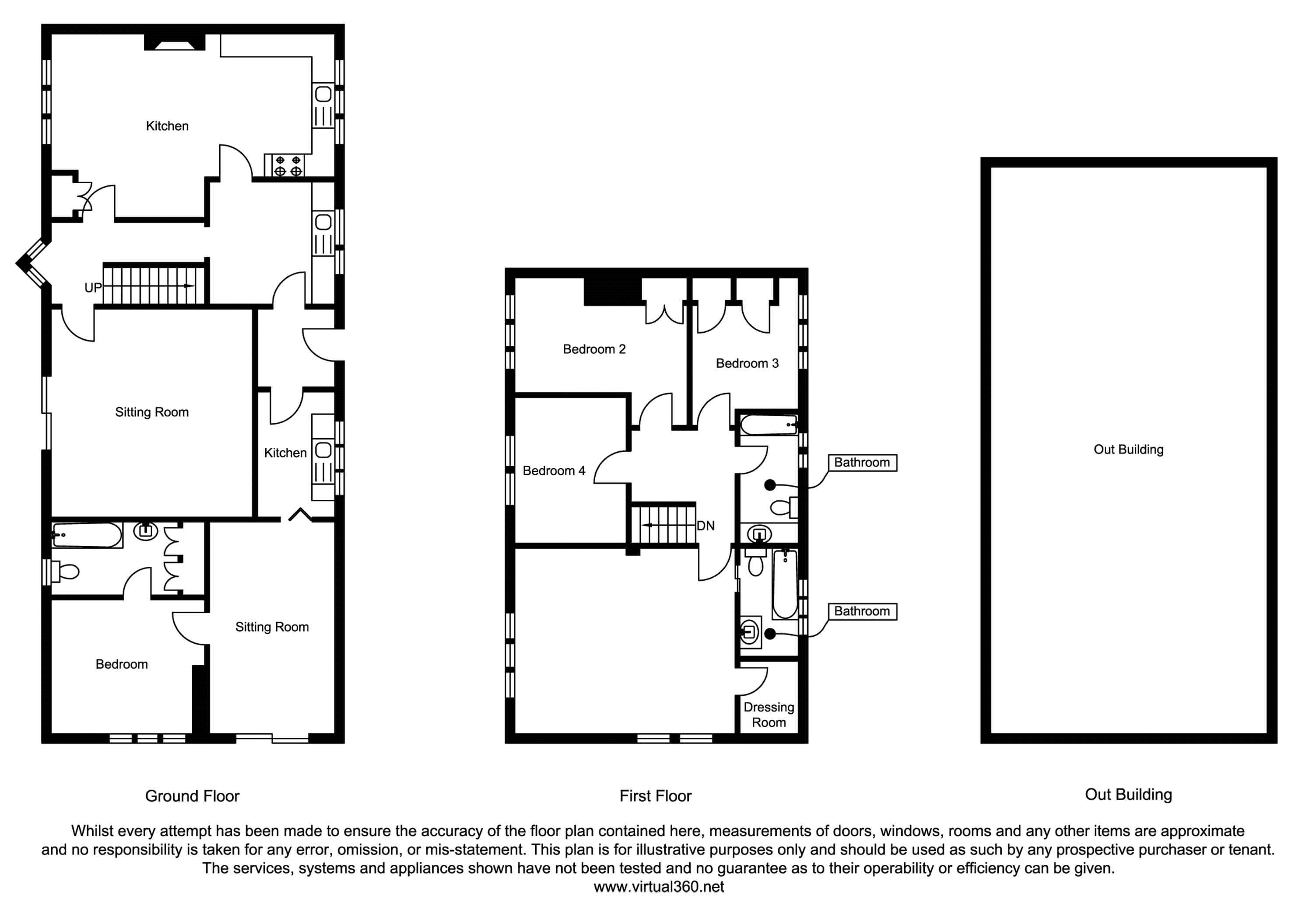 Bleach Farm Cottages, York, YO41 floor plan