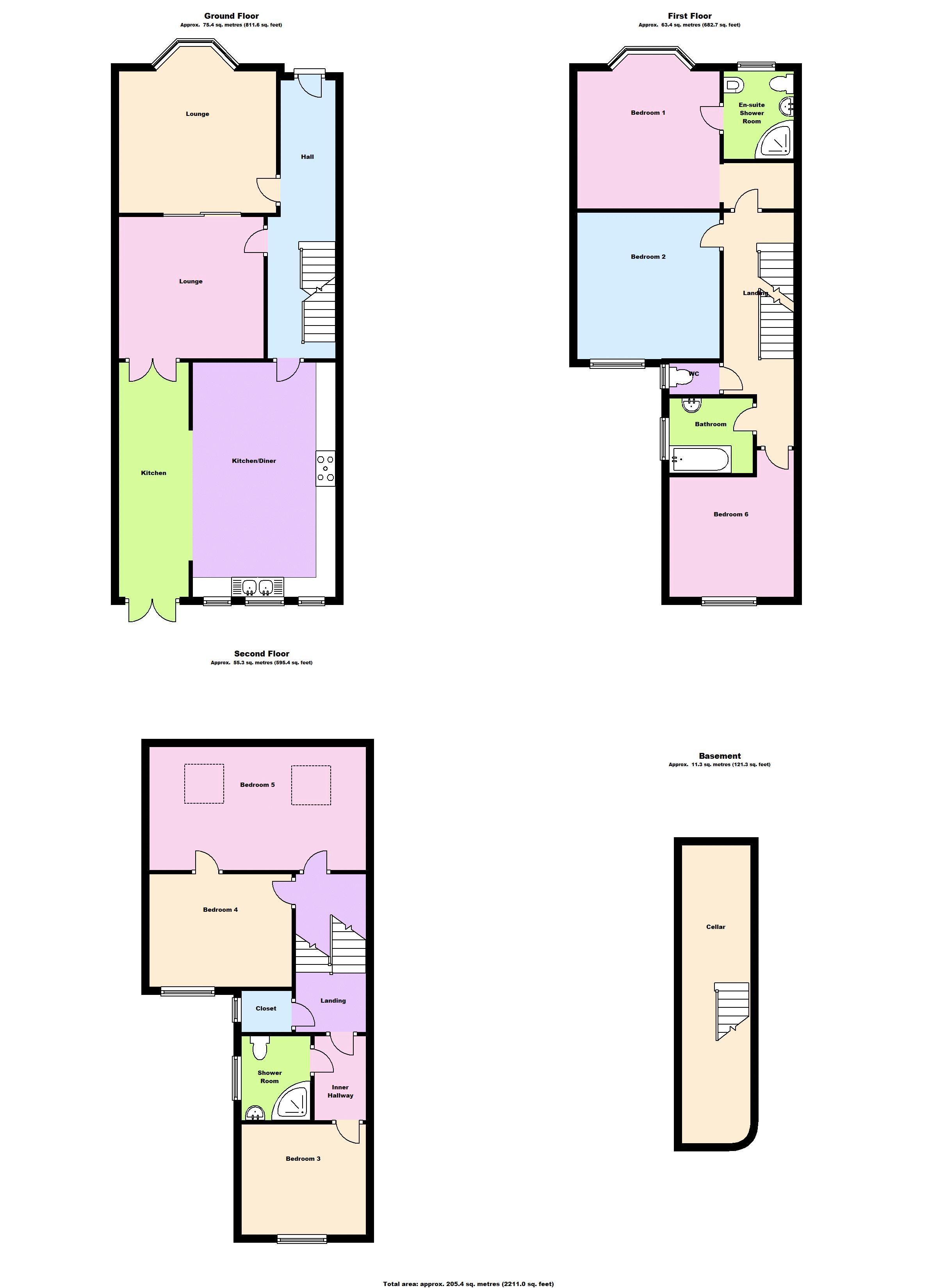 london sw2 floor plan