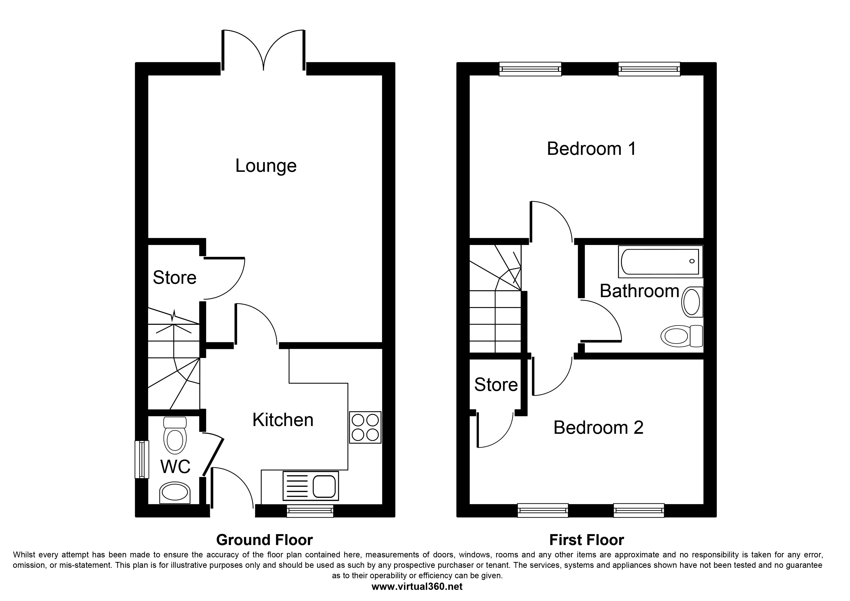 Park Lane, Lincoln floor plan