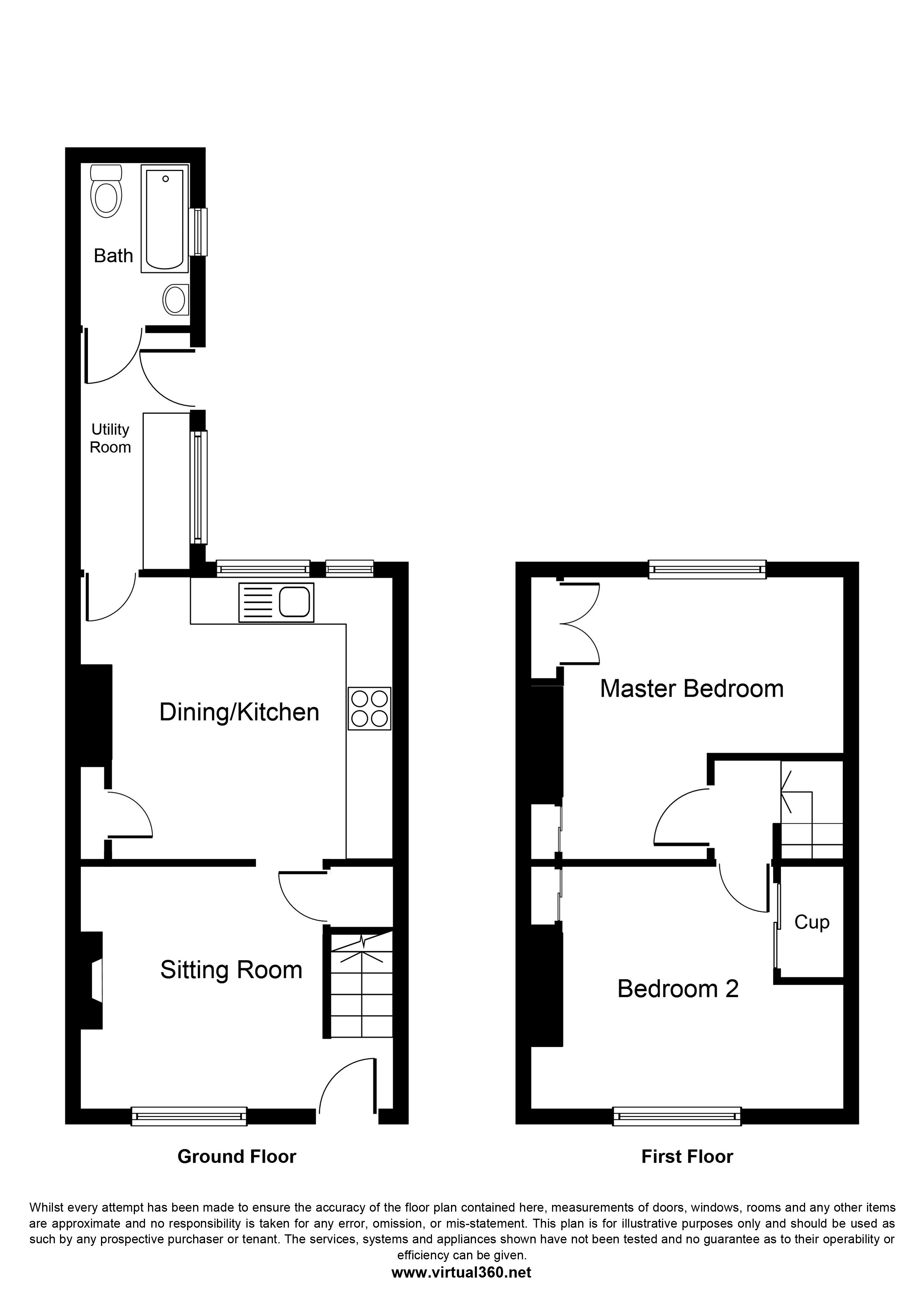 Camwal Terrace, STARBECK floor plan