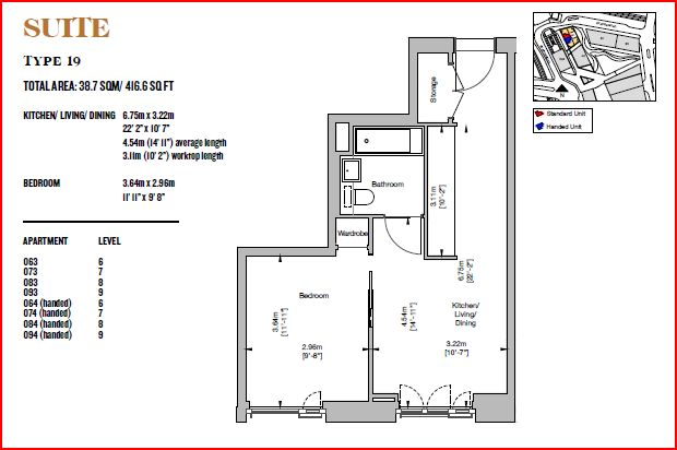 Lewisham Gateway, Lewisham, London SE13 floor plan