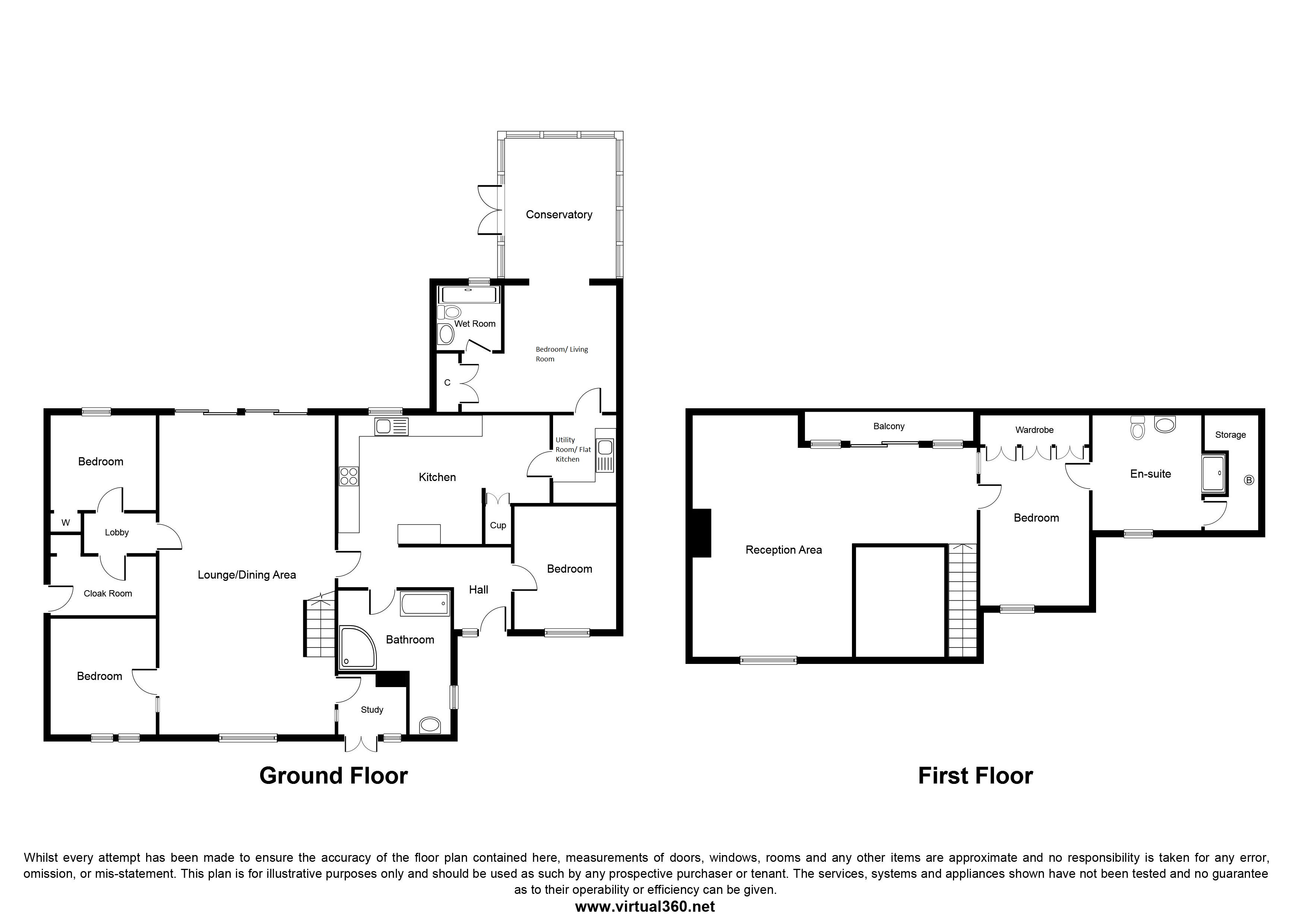 Dilworth Lane, Preston, Lancs, PR3 floor plan
