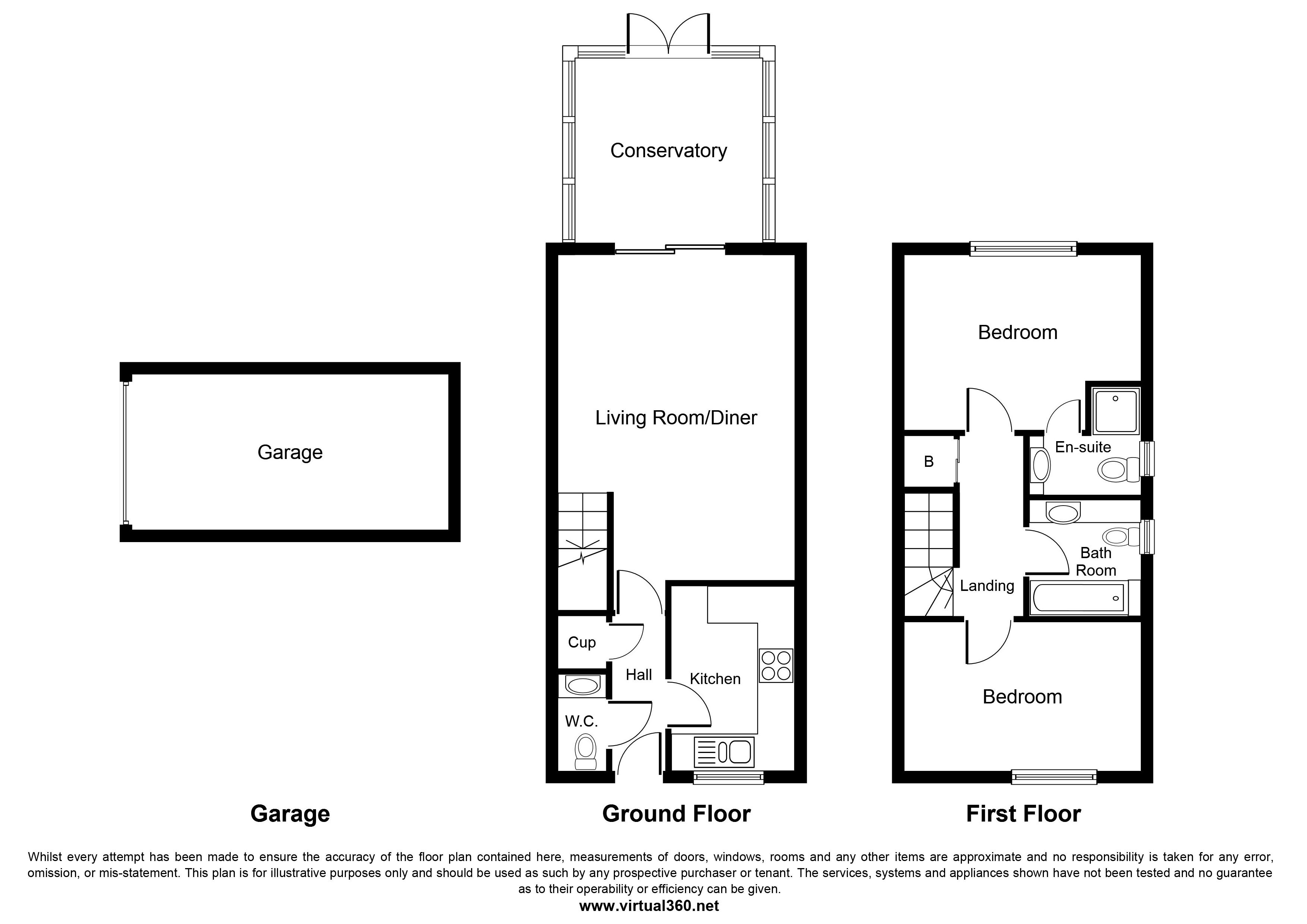 Warfield, Bracknell, Berkshire floor plan