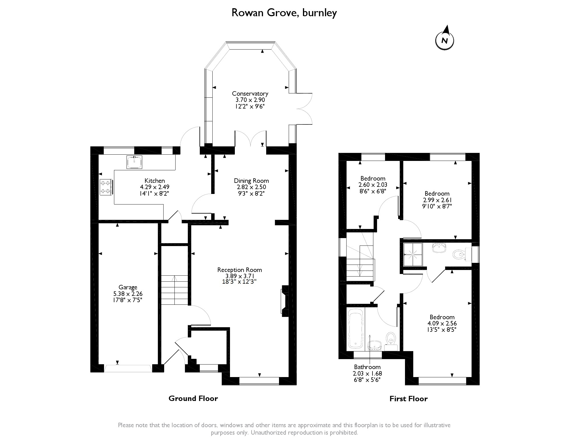 Rowan Grove, Burnley, BB10 floor plan
