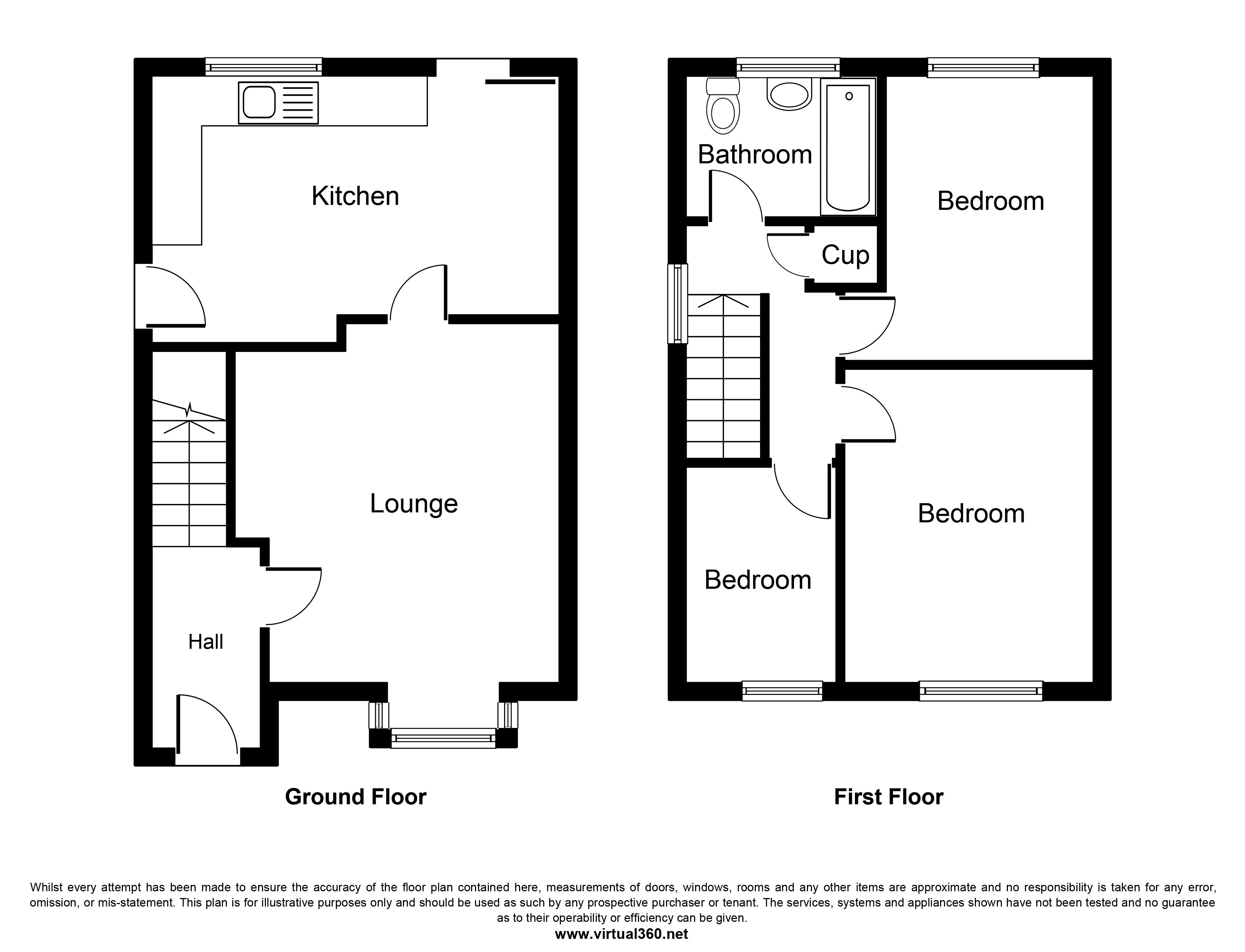 GOWY CLOSE, ALSAGER, STOKE-ON-TRENT floor plan