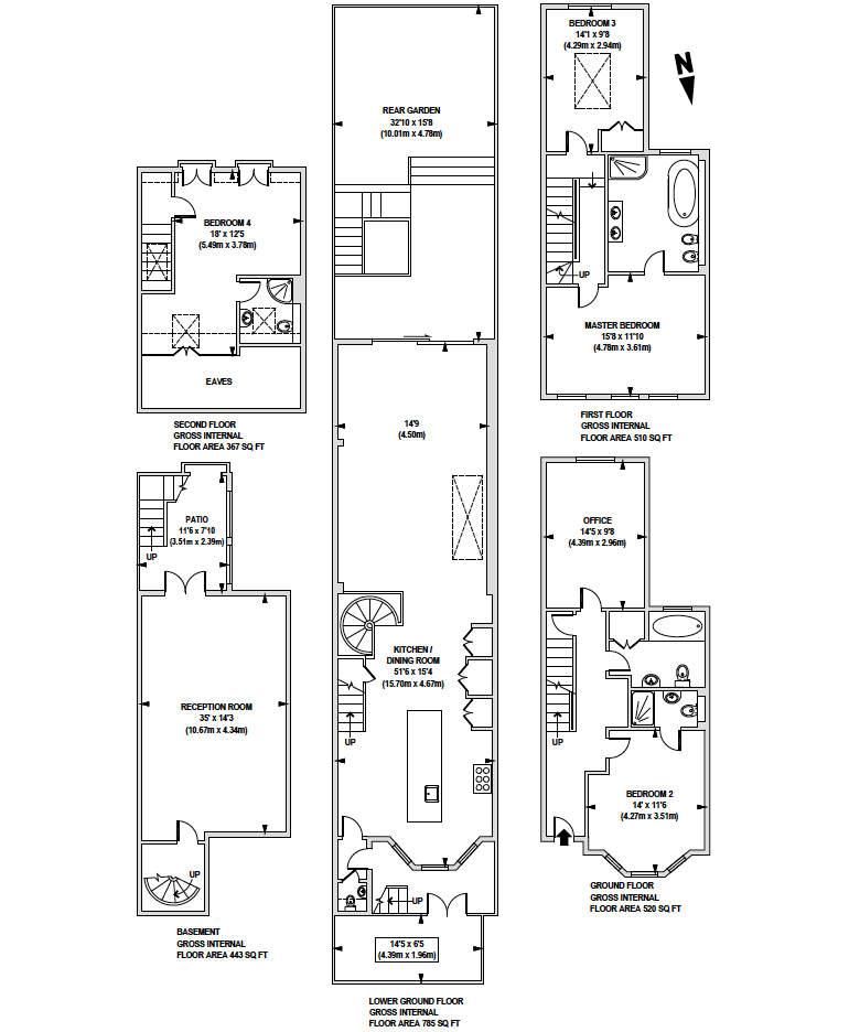 Irving Road,  London, W14 floor plan