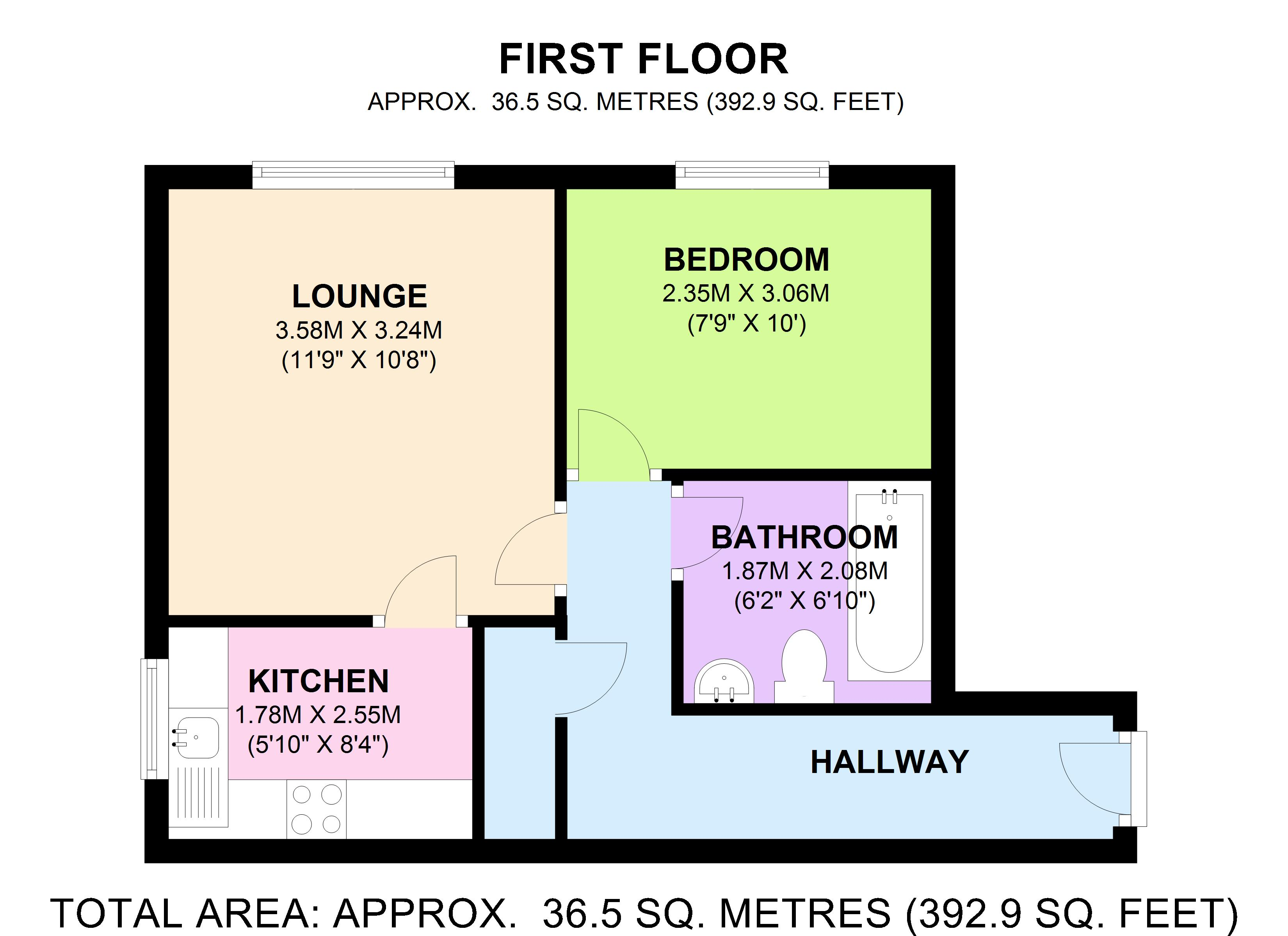 Shaw House, Moorfield Chase, Bolton, BL4 floor plan
