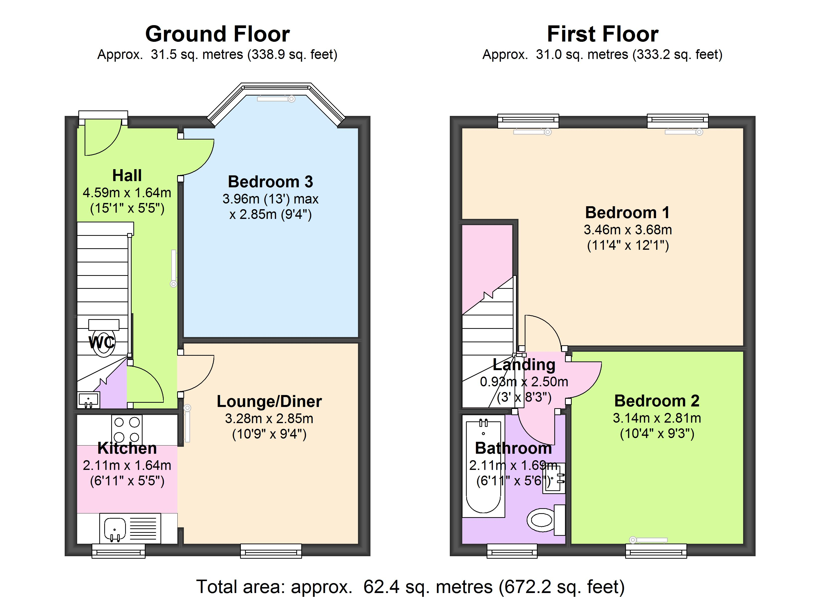 Ronver Road, London, SE12 floor plan