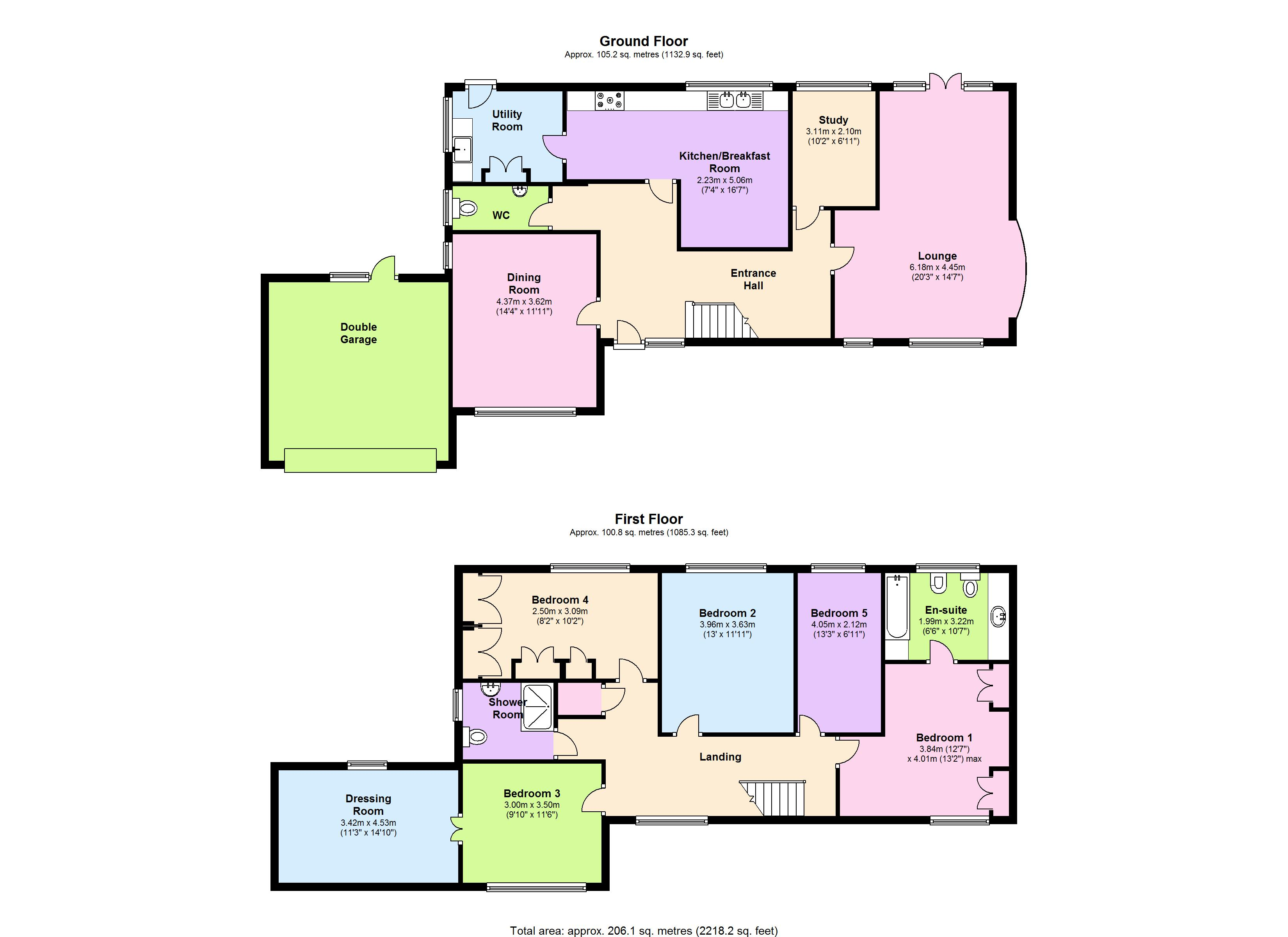 Green Glades, Hornchurch floor plan