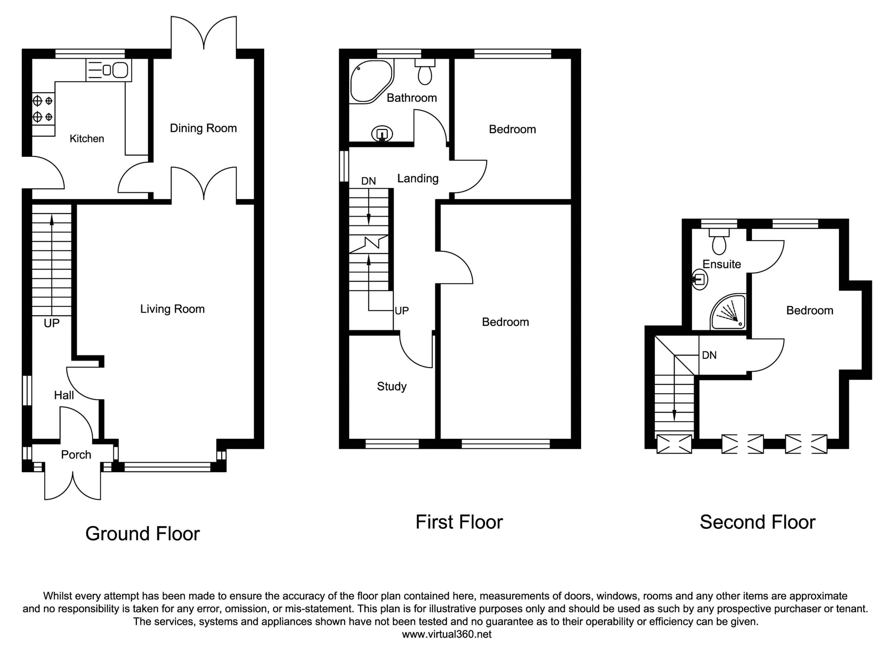 Suffolk Gardens, South Shields floor plan