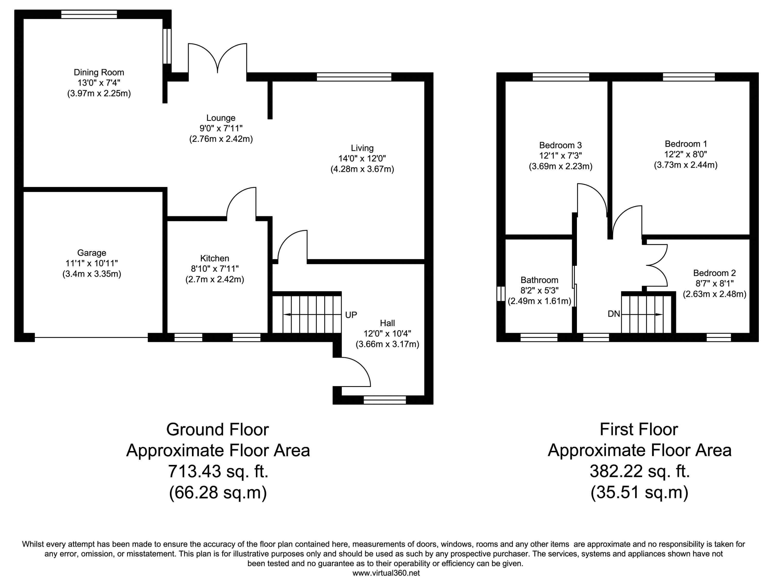 St Stephen Road, Warrington floor plan